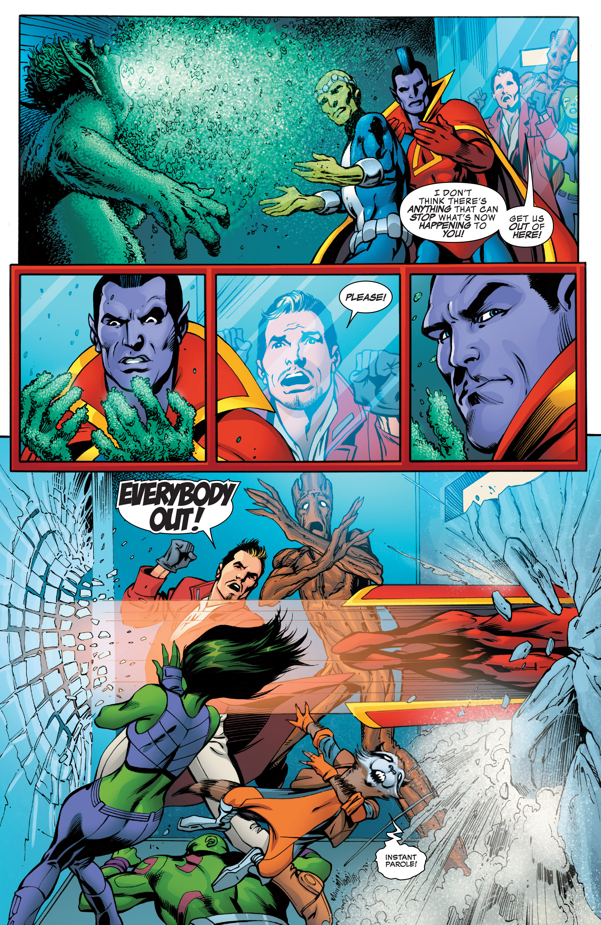 Read online Guardians of the Galaxy: Mother Entropy comic -  Issue #4 - 9