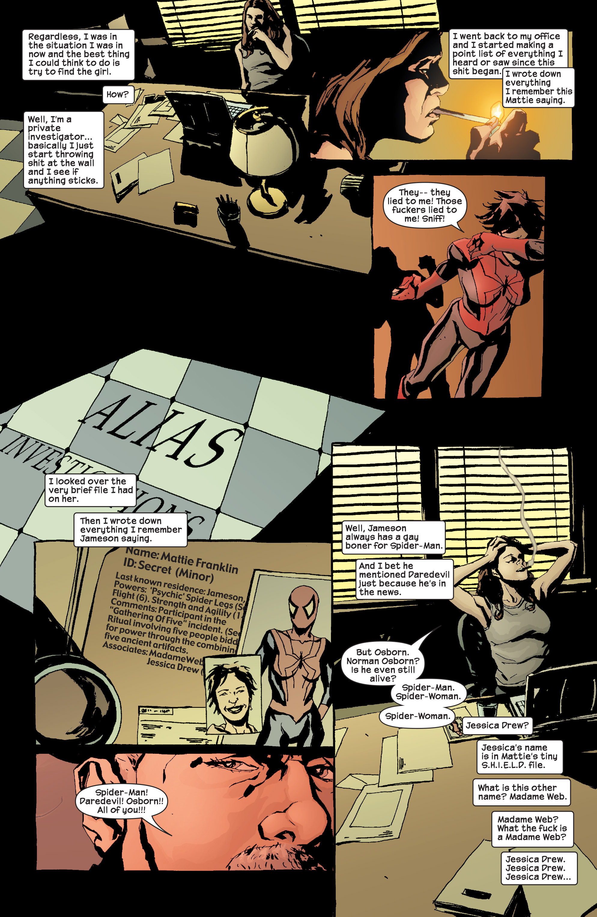 Read online Alias comic -  Issue #17 - 11