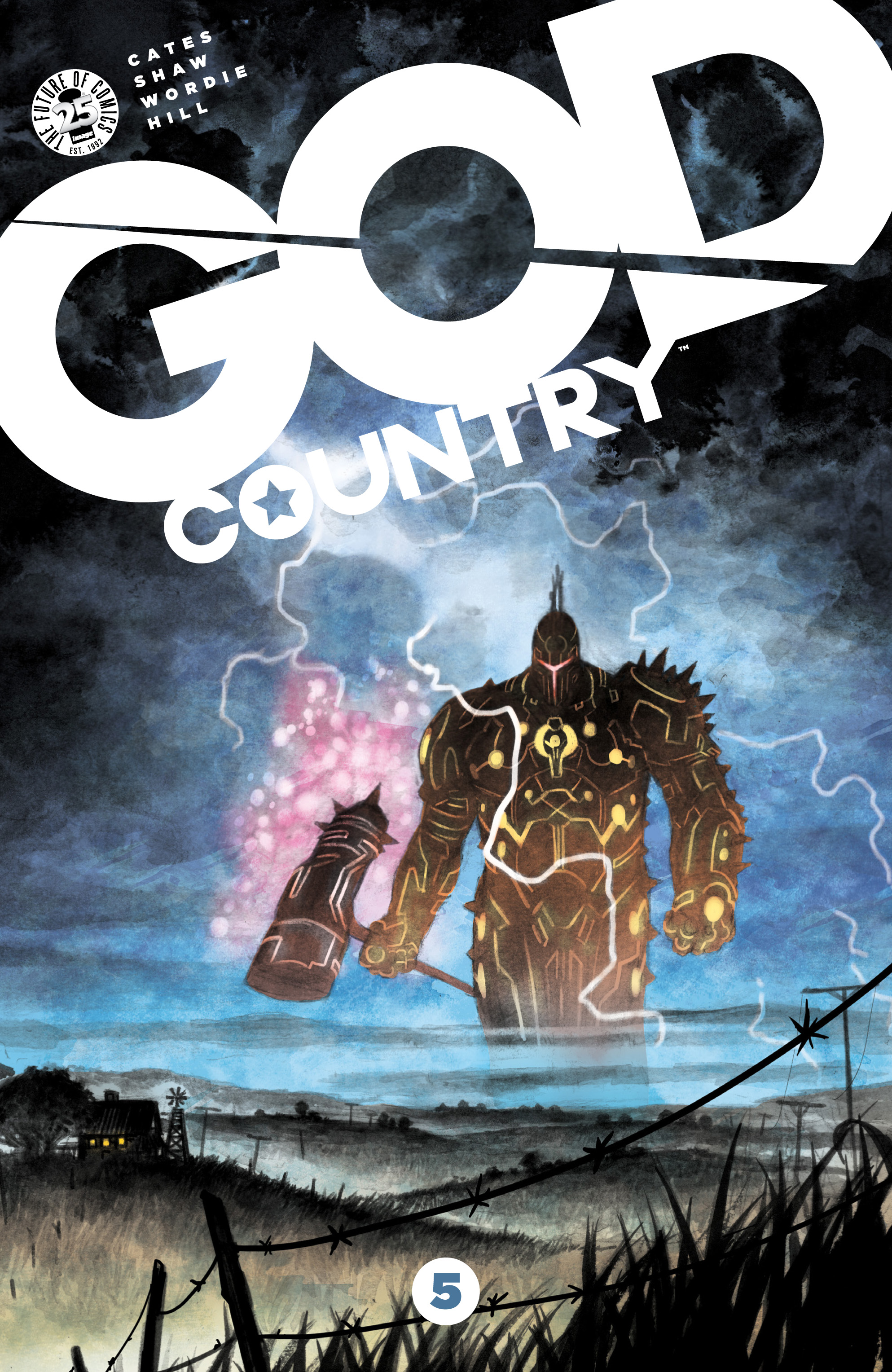 Read online God Country comic -  Issue #5 - 1