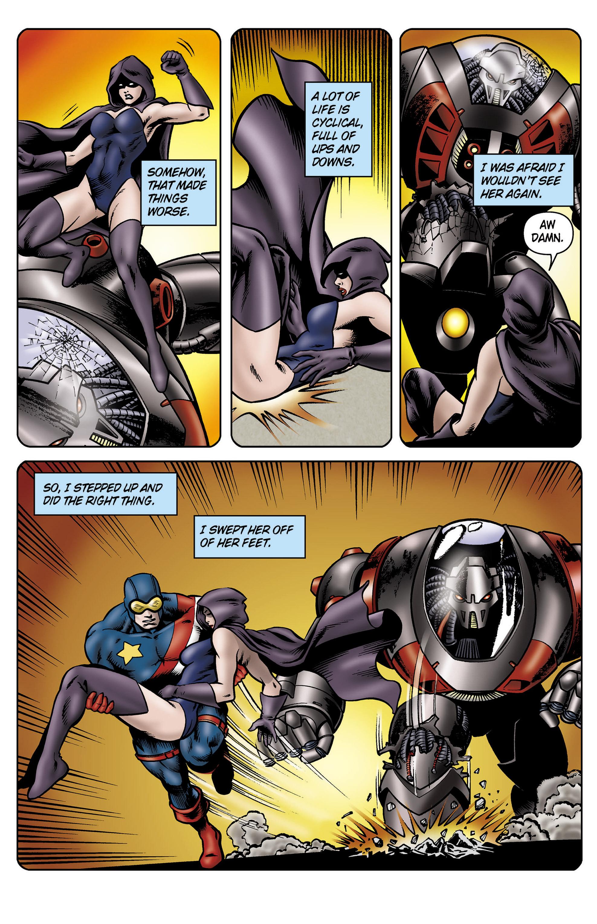Read online SideChicks comic -  Issue #5 - 10