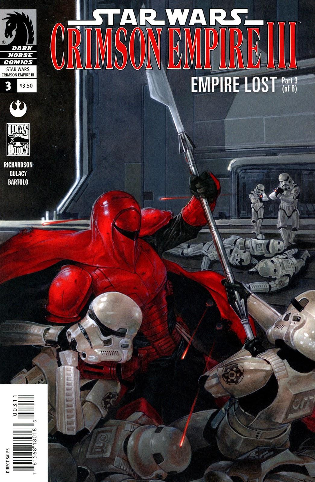 Star Wars: Crimson Empire III - Empire Lost 3 Page 1