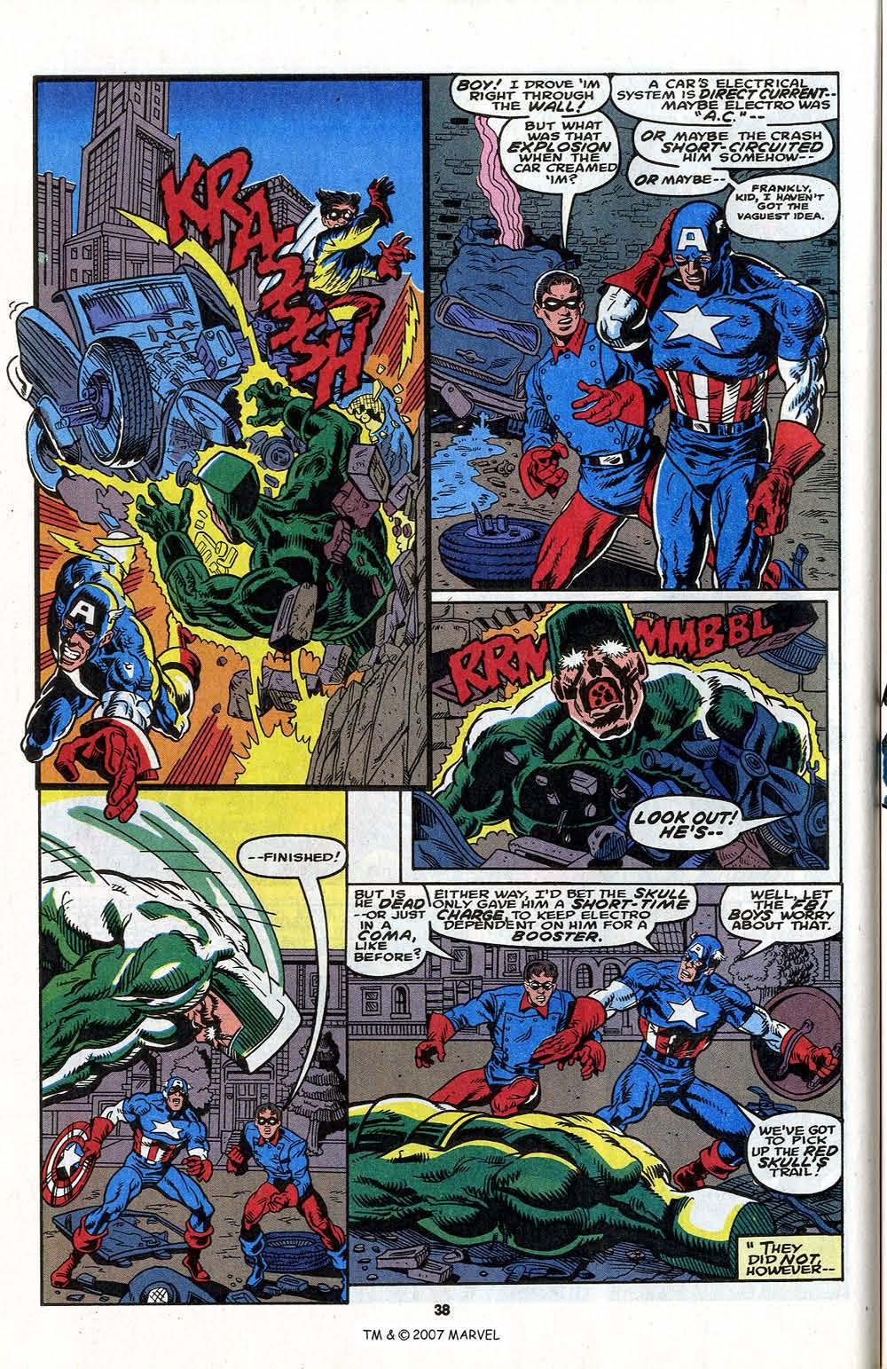 Read online Captain America (1968) comic -  Issue # _Annual 13 - 40
