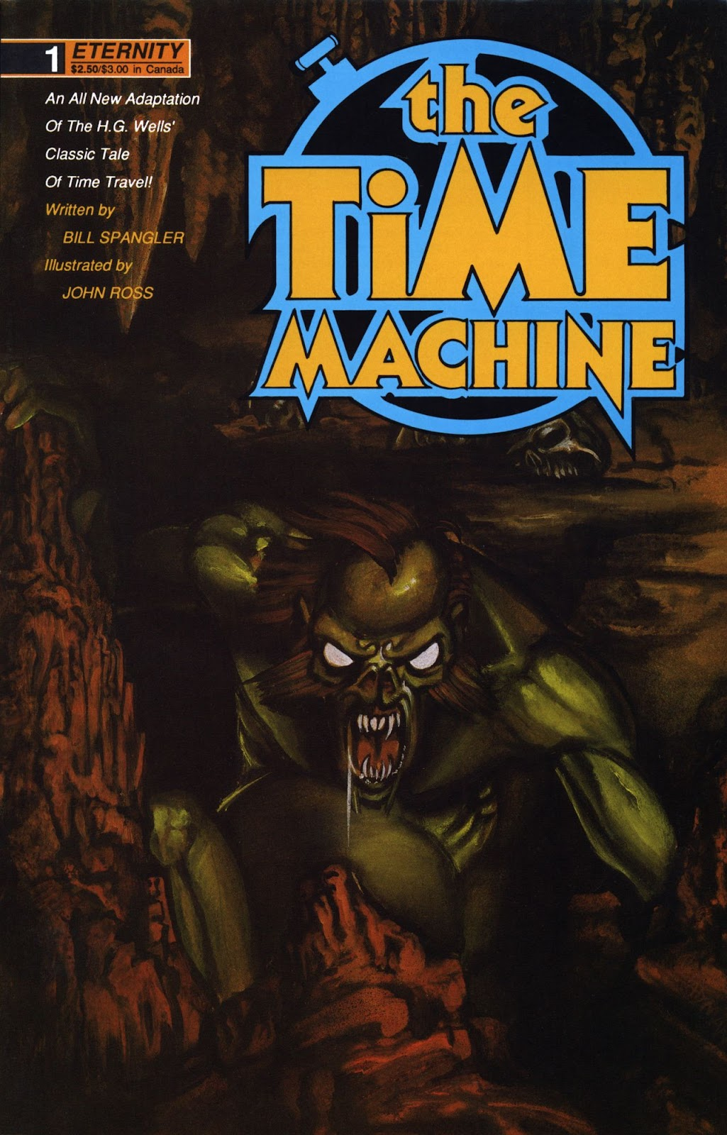 The Time Machine issue 1 - Page 1
