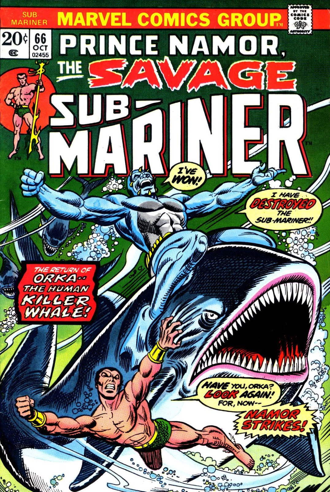 The Sub-Mariner 66 Page 1