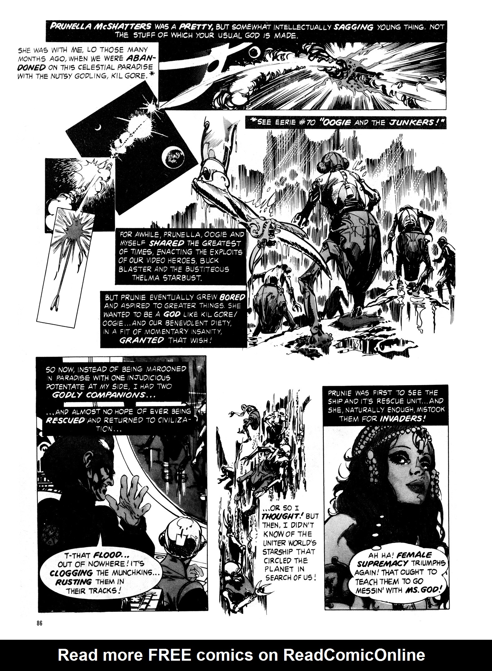 Read online Eerie Archives comic -  Issue # TPB 16 - 87
