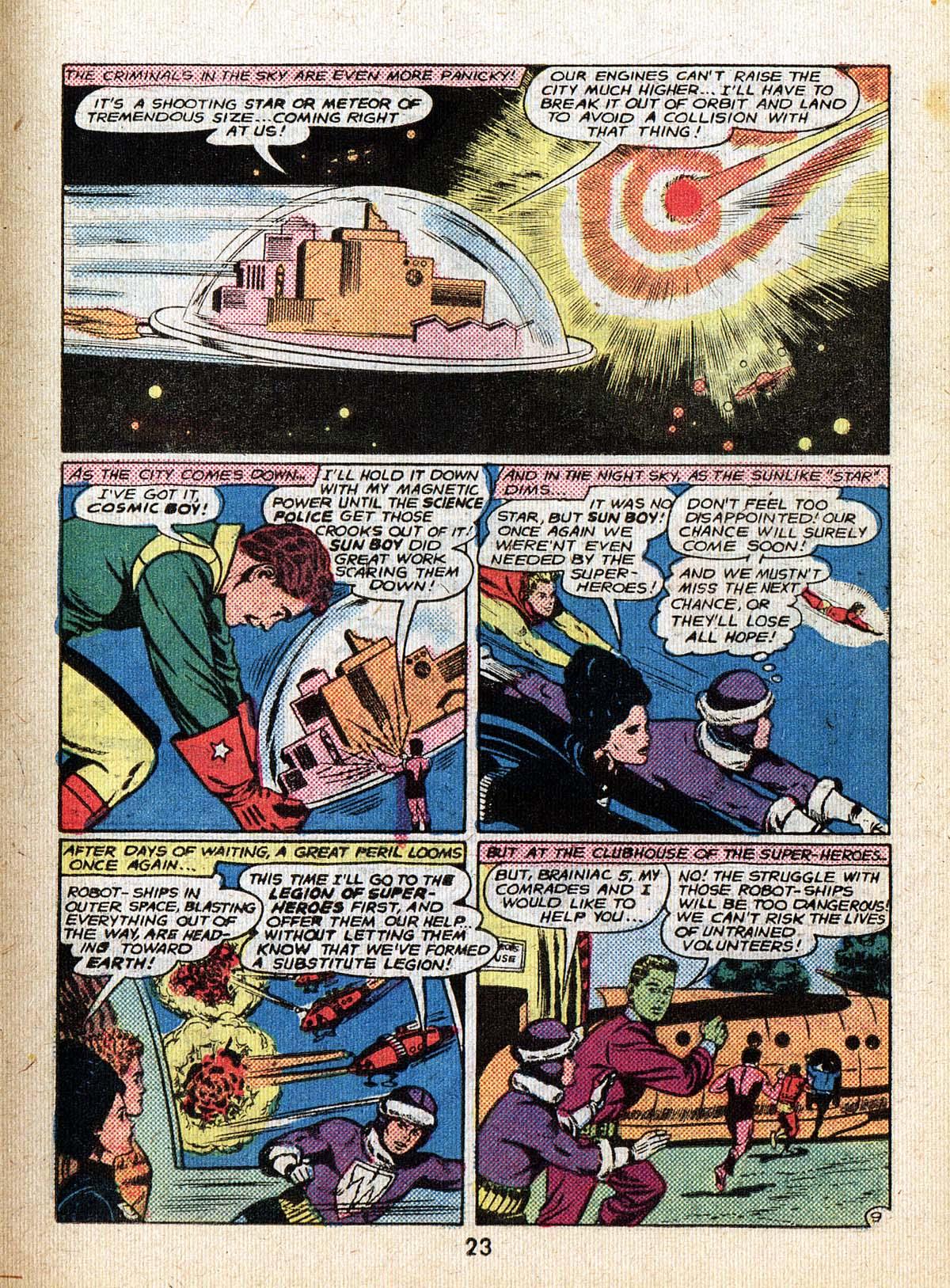 Read online Adventure Comics (1938) comic -  Issue #500 - 23