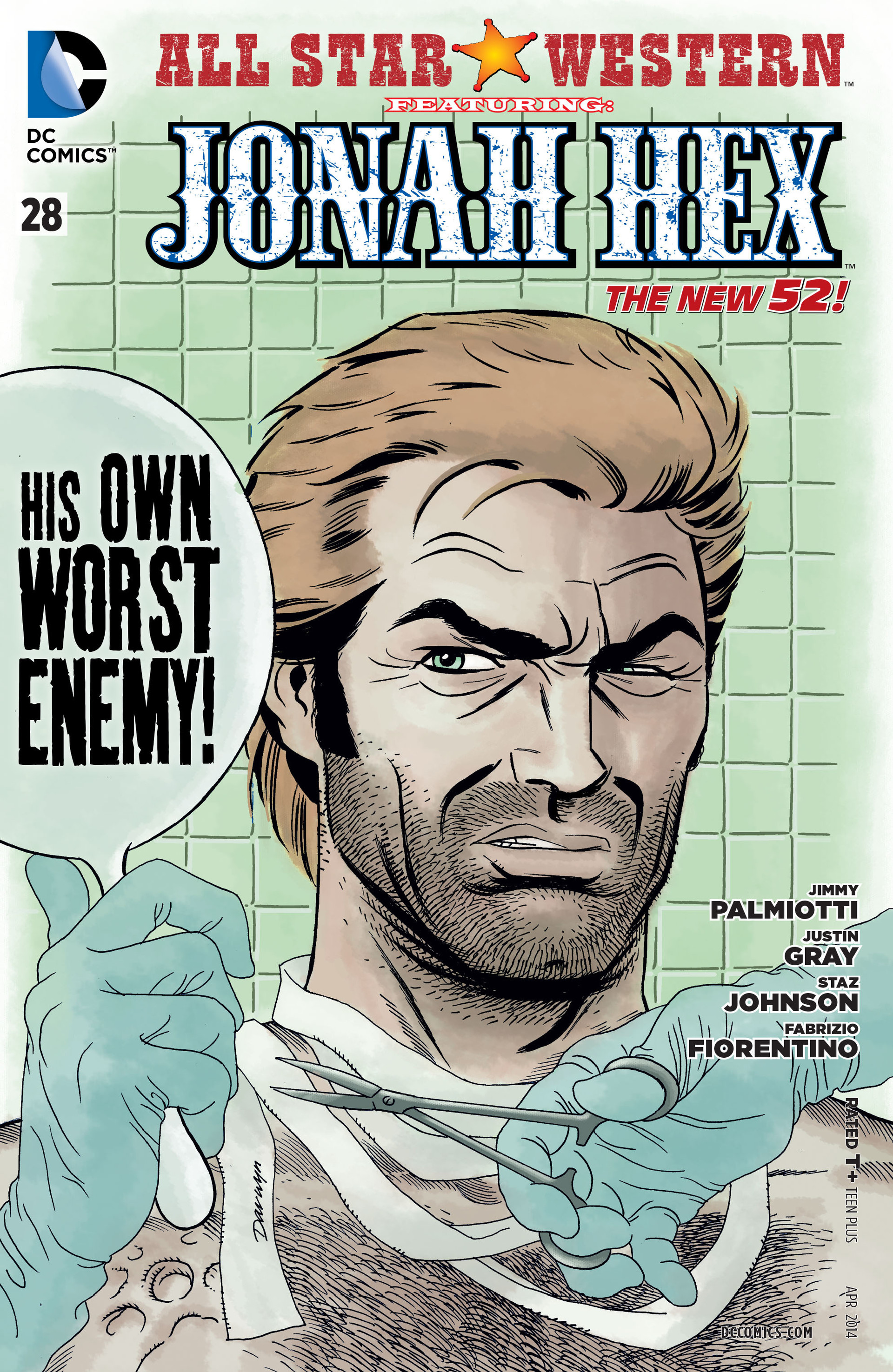 Read online All-Star Western (2011) comic -  Issue #28 - 1