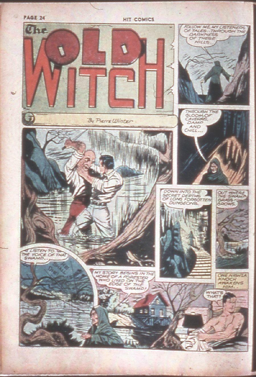 Read online Hit Comics comic -  Issue #8 - 26
