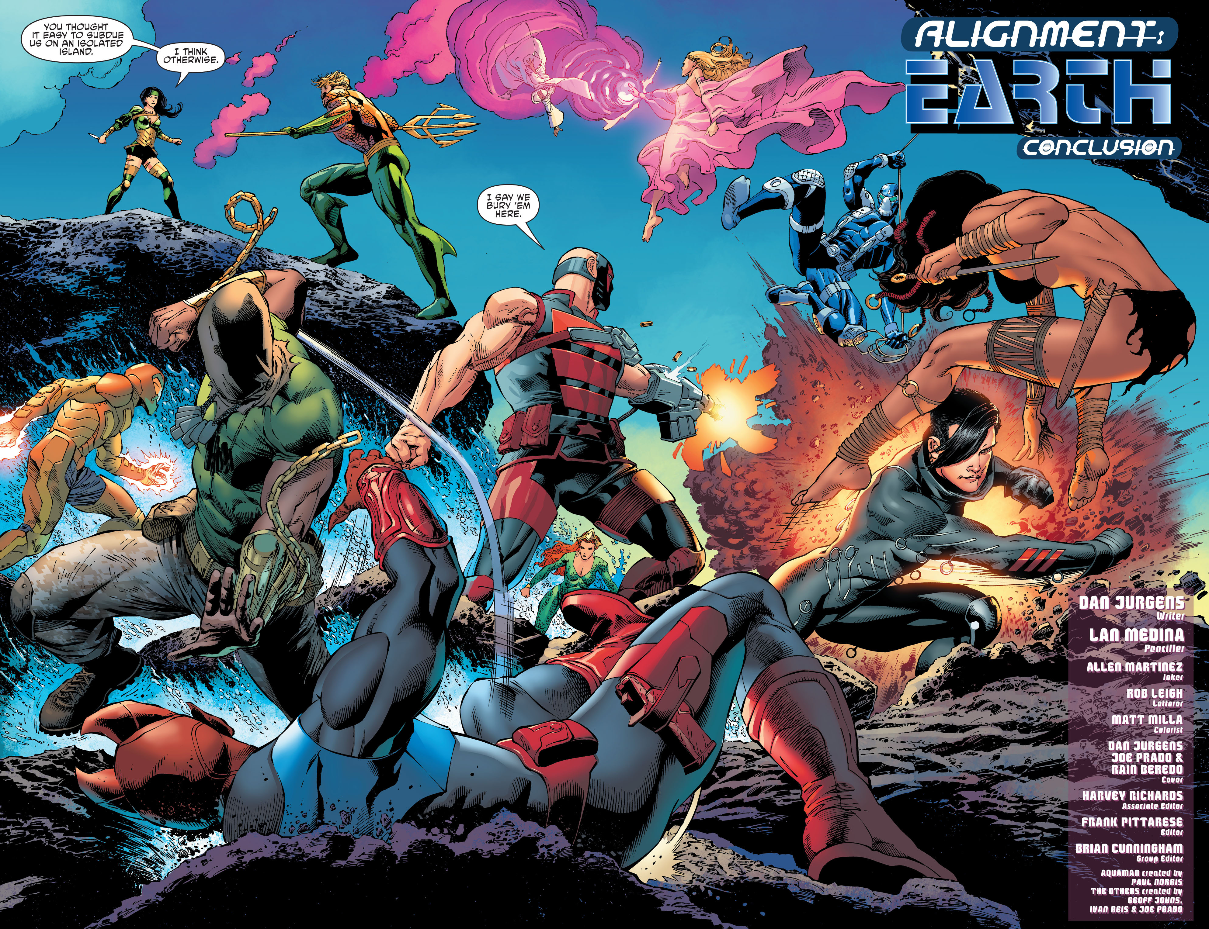 Read online Aquaman and the Others comic -  Issue #11 - 3