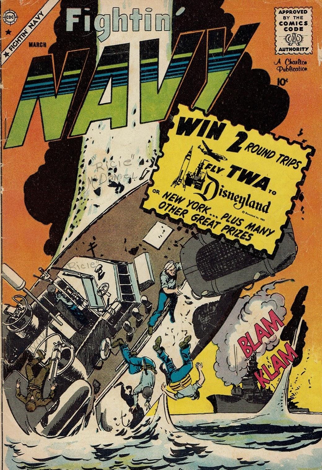 Read online Fightin' Navy comic -  Issue #91 - 1