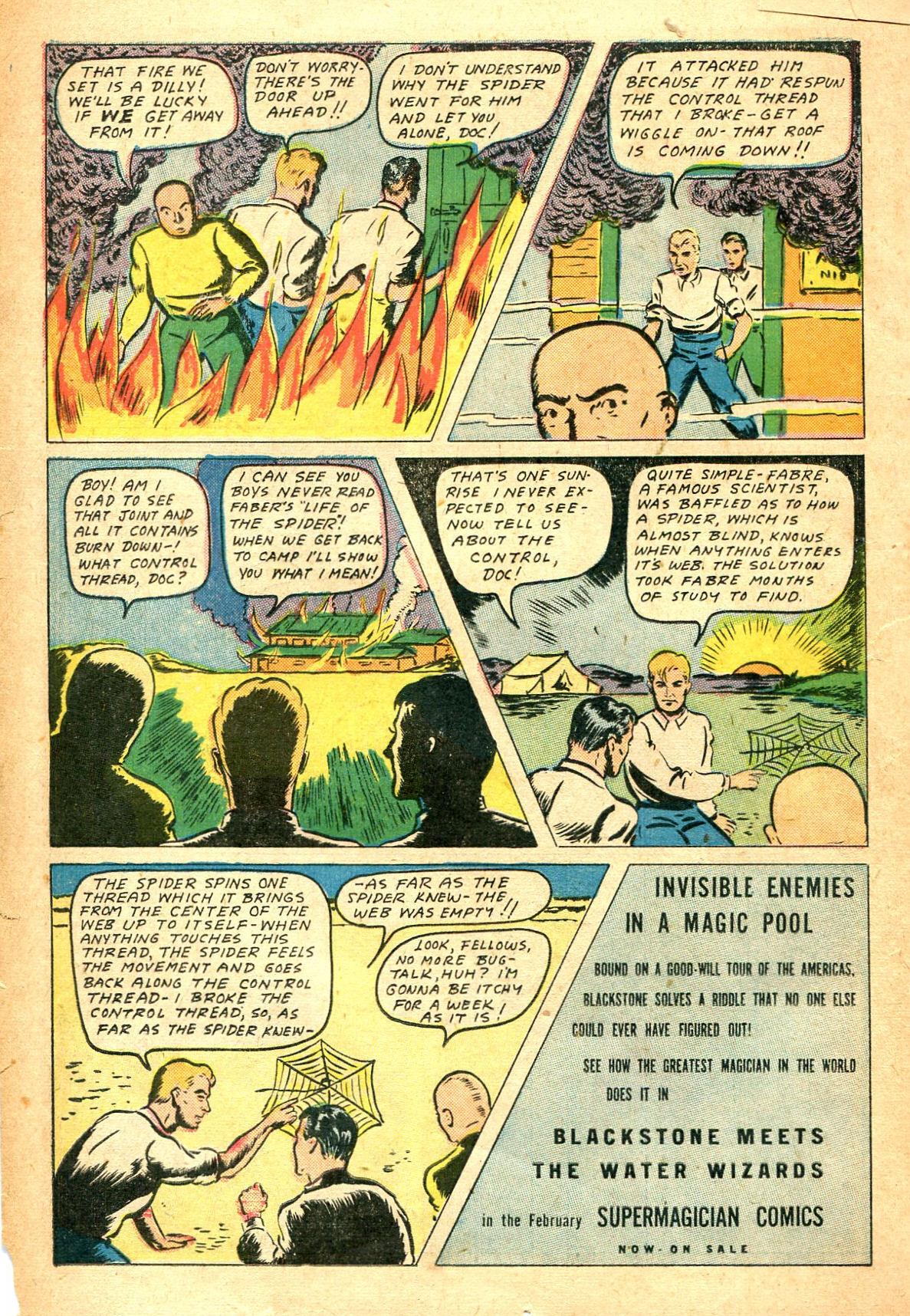 Read online Shadow Comics comic -  Issue #47 - 25