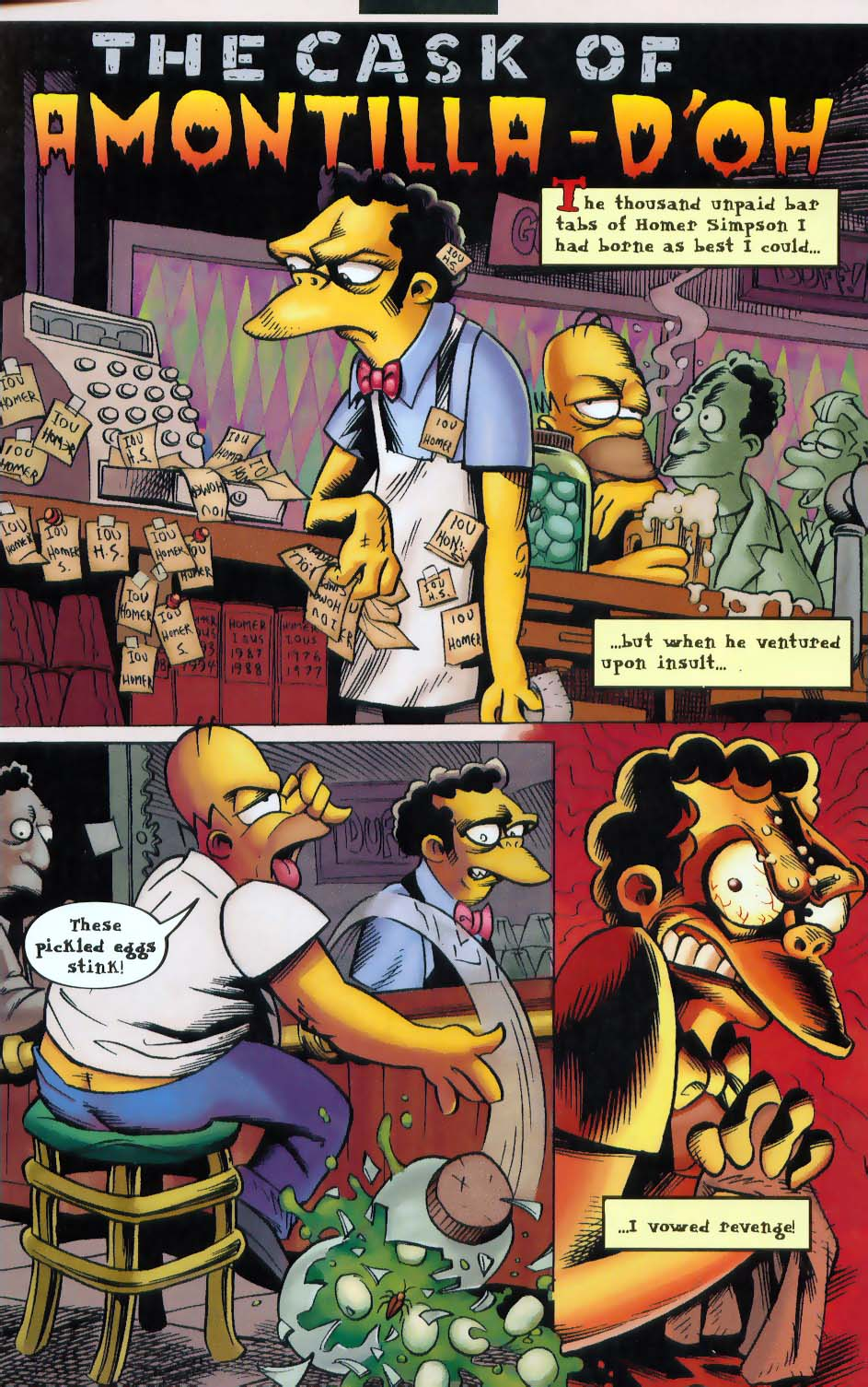 Read online Treehouse of Horror comic -  Issue #9 - 21