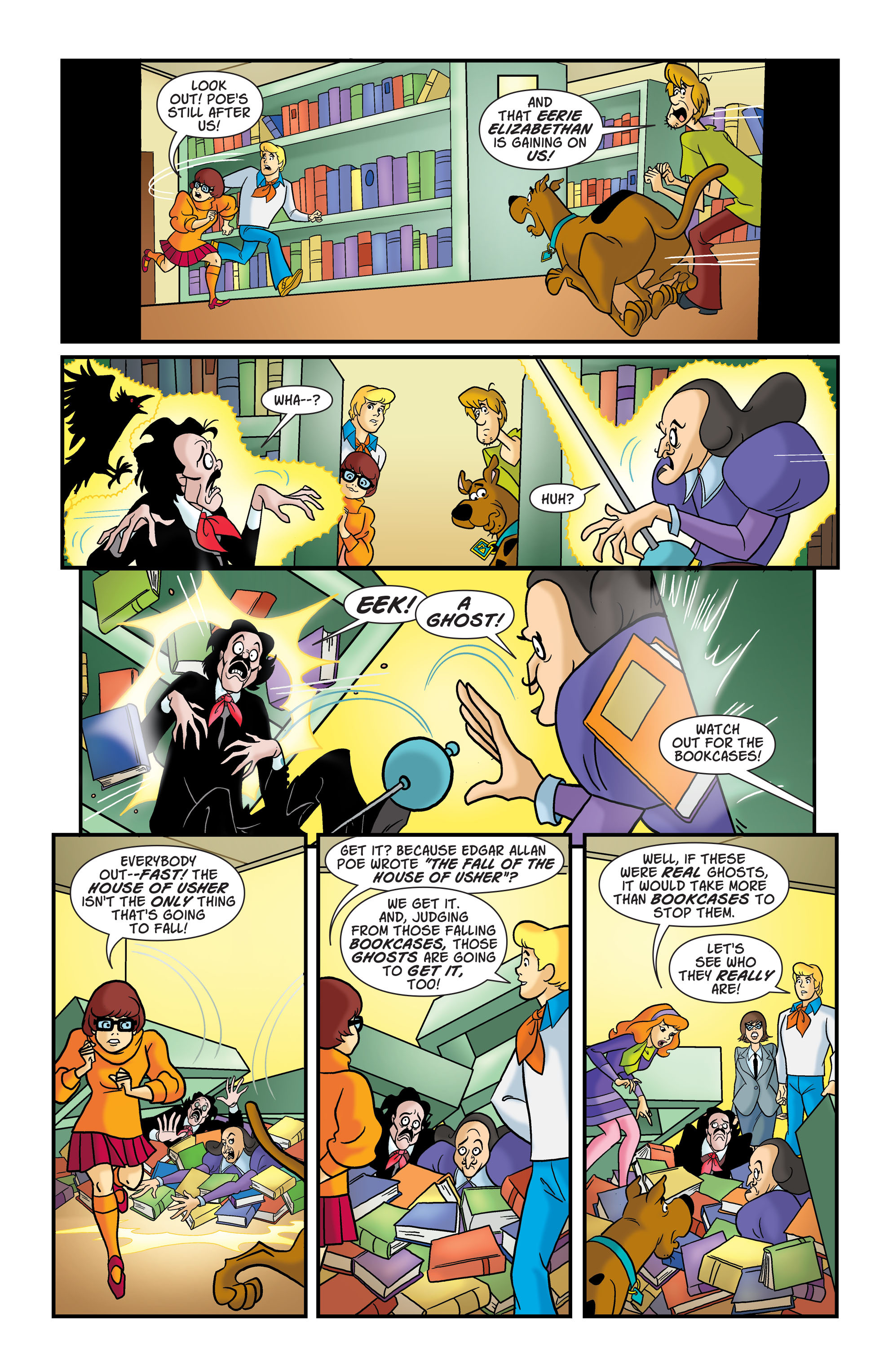 Read online Scooby-Doo: Where Are You? comic -  Issue #76 - 9