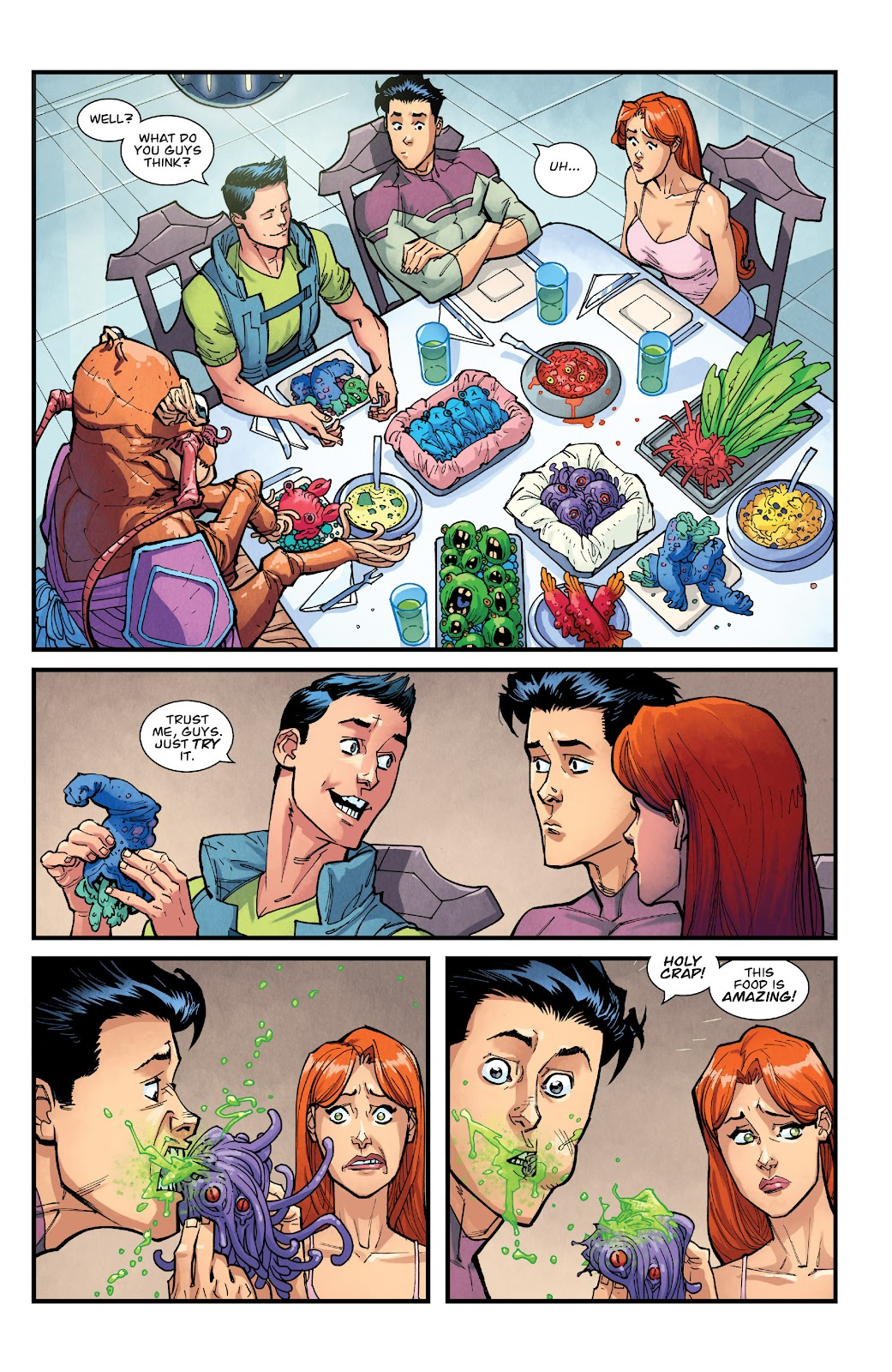 Invincible (2003) issue TPB 21 - Modern Family - Page 76