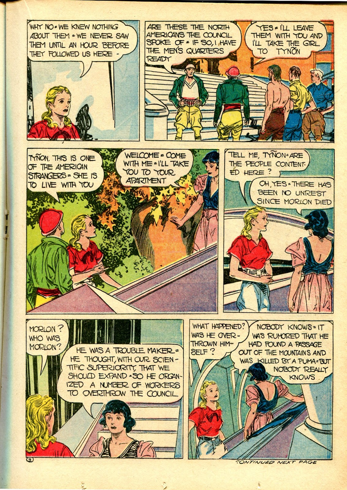 Read online Famous Funnies comic -  Issue #111 - 31