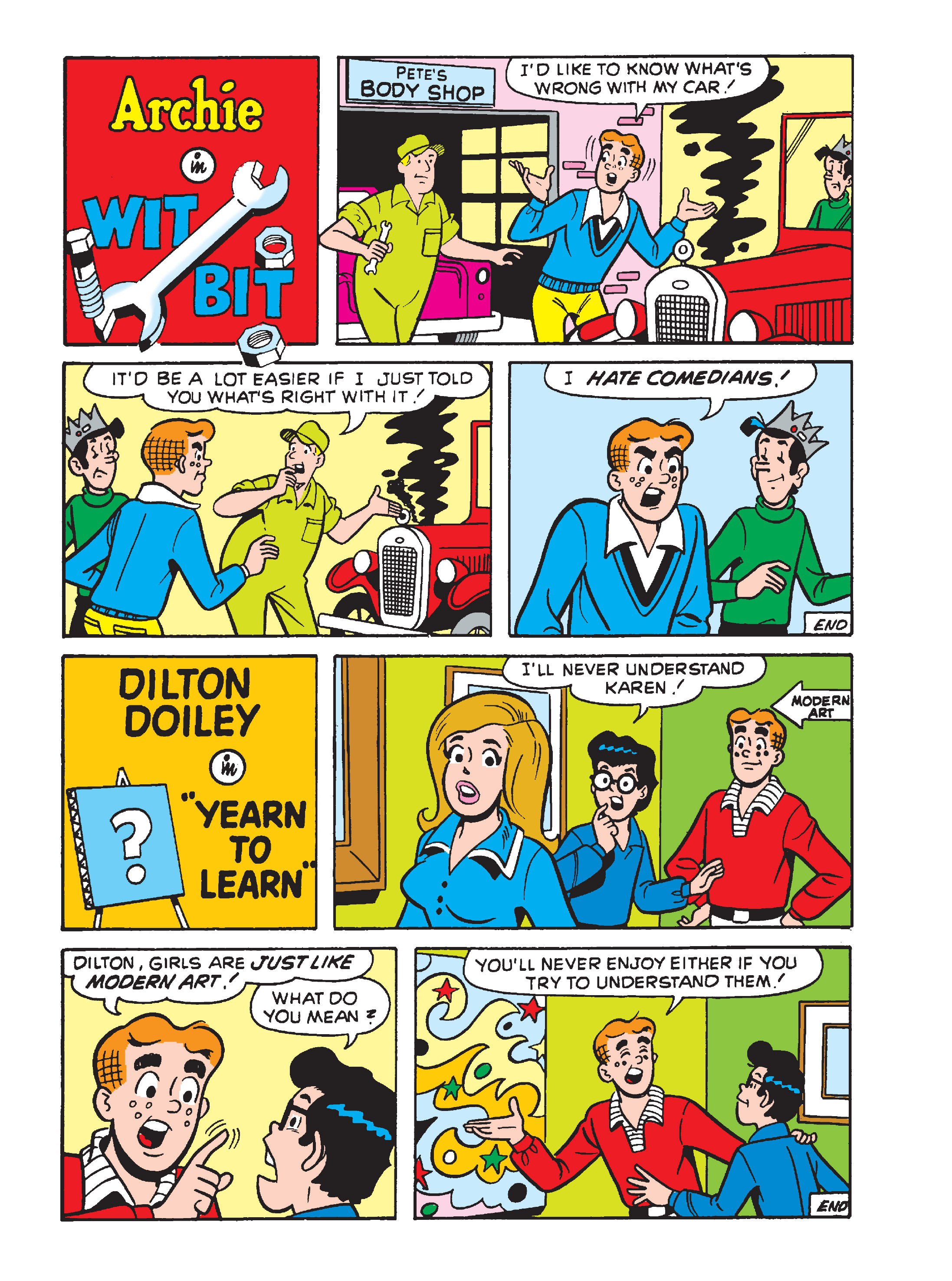 Read online Archie's Funhouse Double Digest comic -  Issue #15 - 121