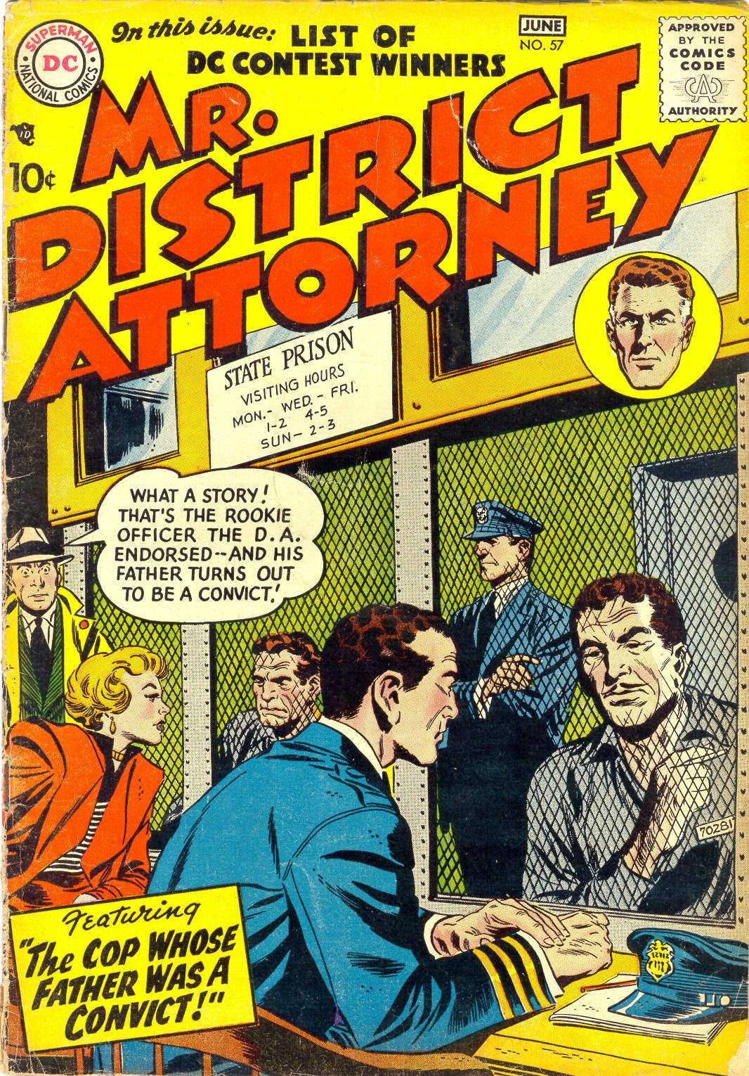 Mr. District Attorney issue 57 - Page 1