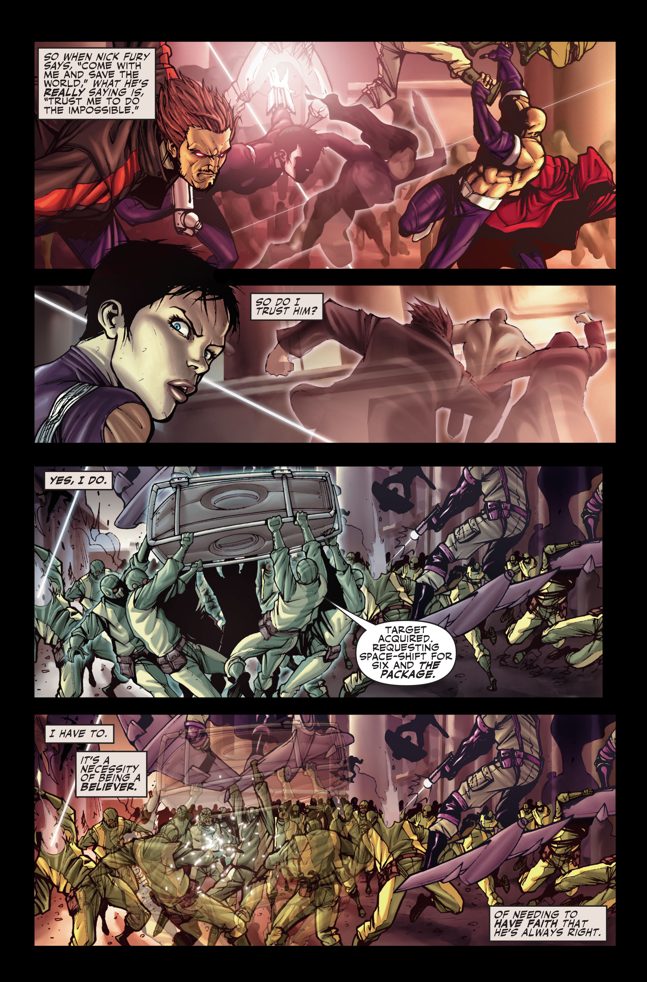 Read online Secret Warriors comic -  Issue #1 - 9