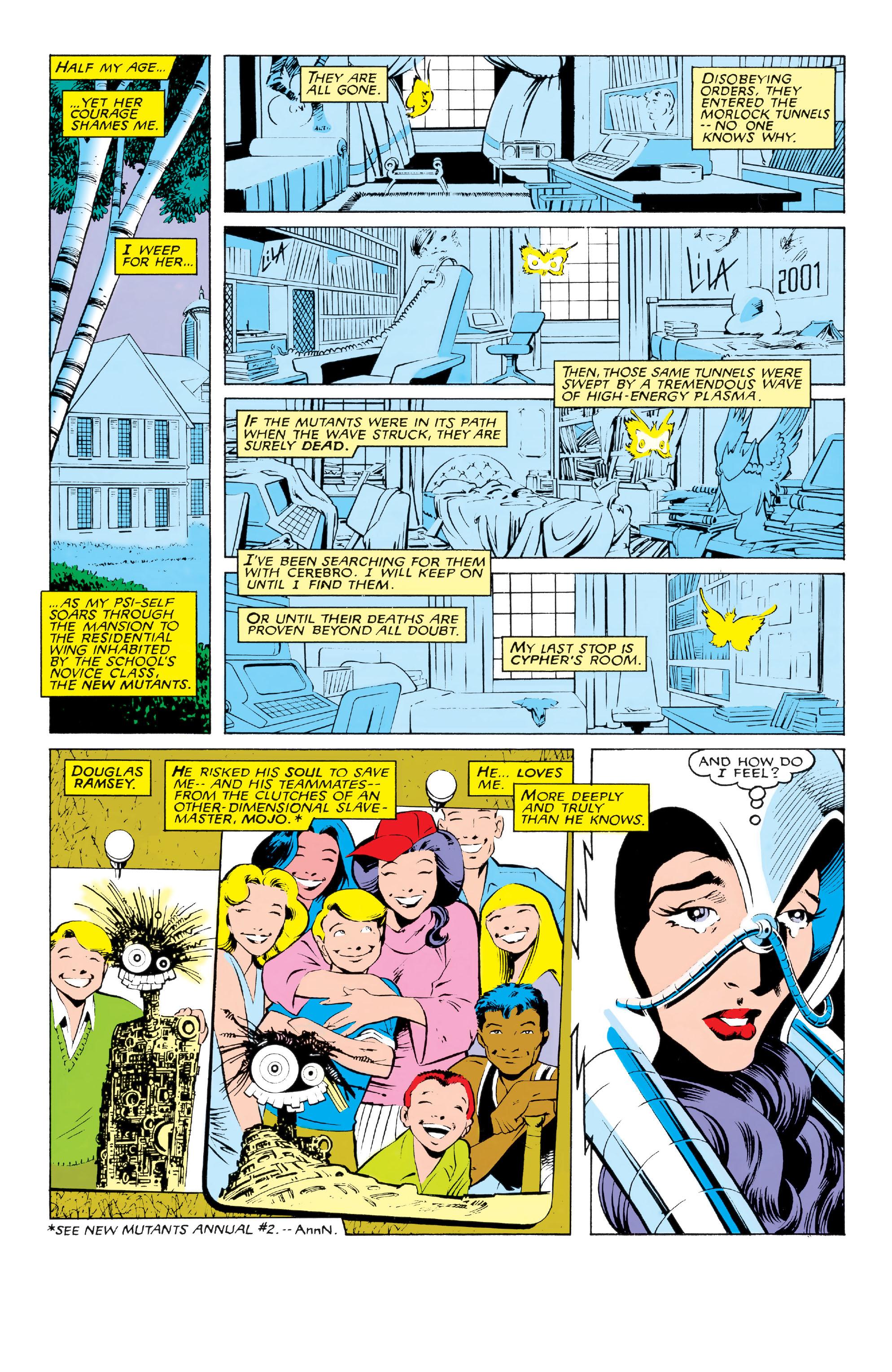 Read online Uncanny X-Men (1963) comic -  Issue #213 - 5