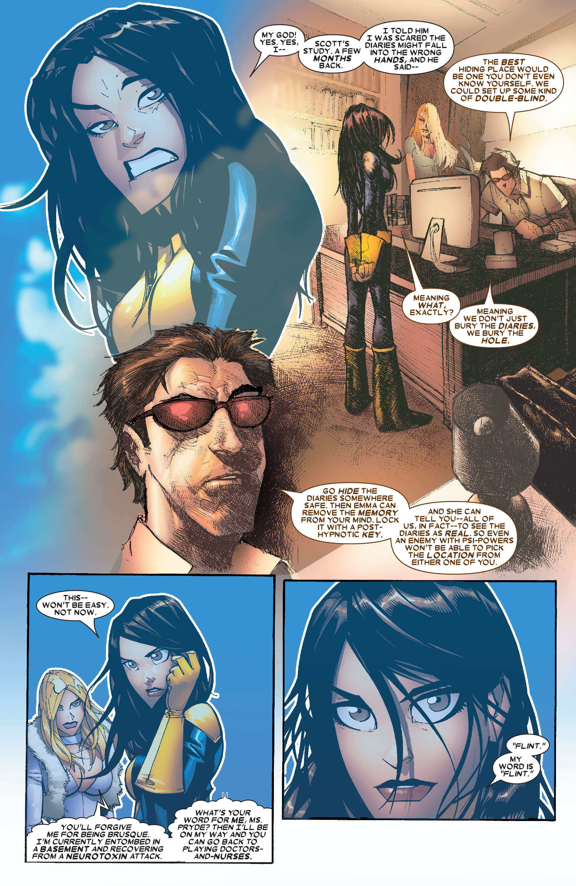 X-Men (1991) 203 Page 3