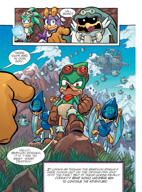 Read online Sonic Comics Spectacular: Speed of Sound comic -  Issue # Full - 164