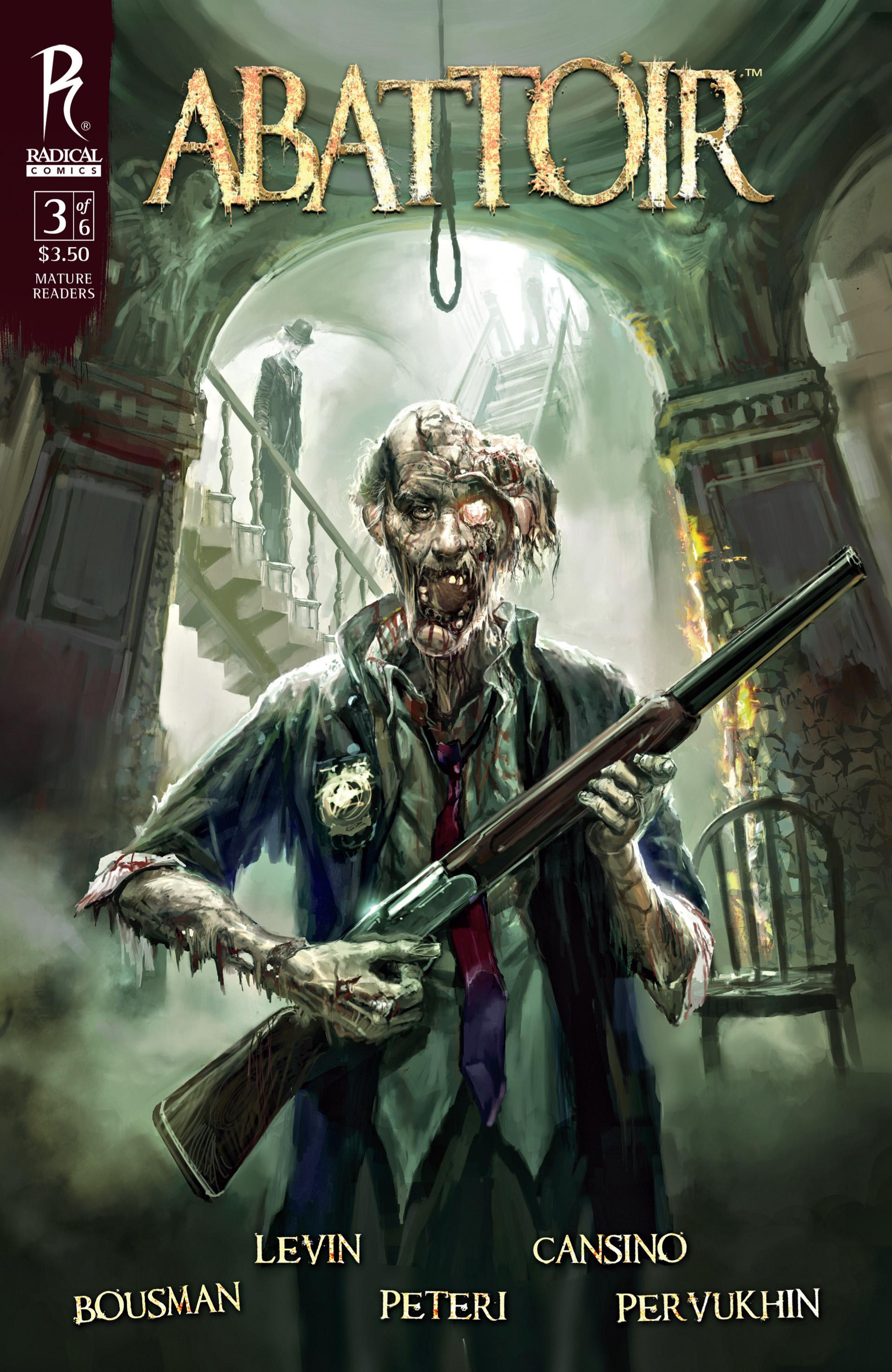 Read online Abattoir comic -  Issue #3 - 1