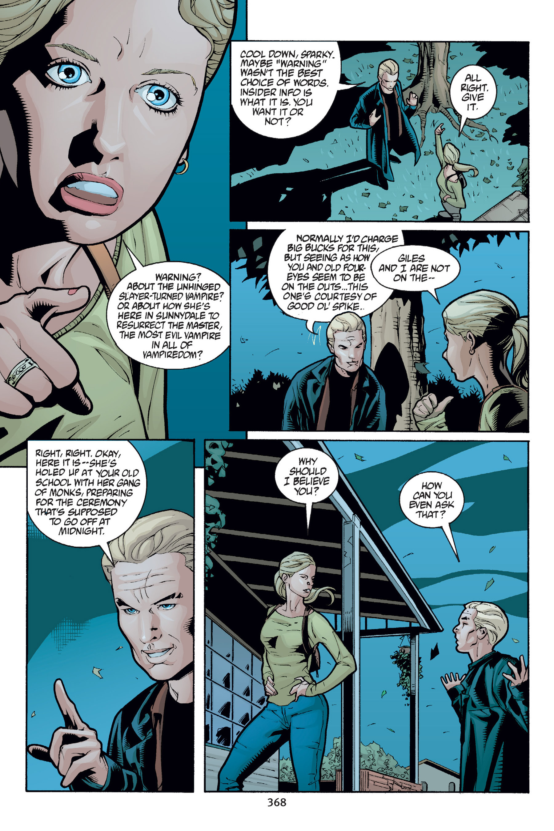 Read online Buffy the Vampire Slayer: Omnibus comic -  Issue # TPB 6 - 364