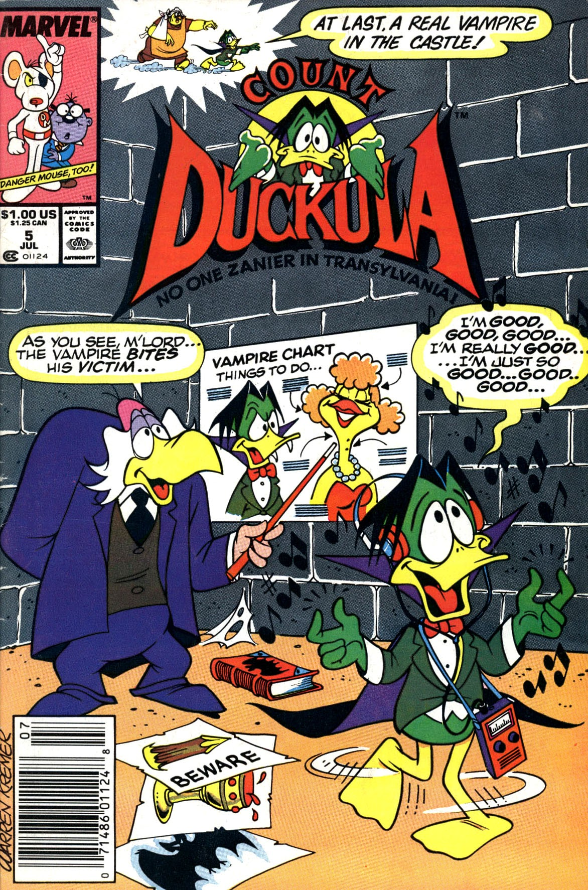 Count Duckula 5 Page 1
