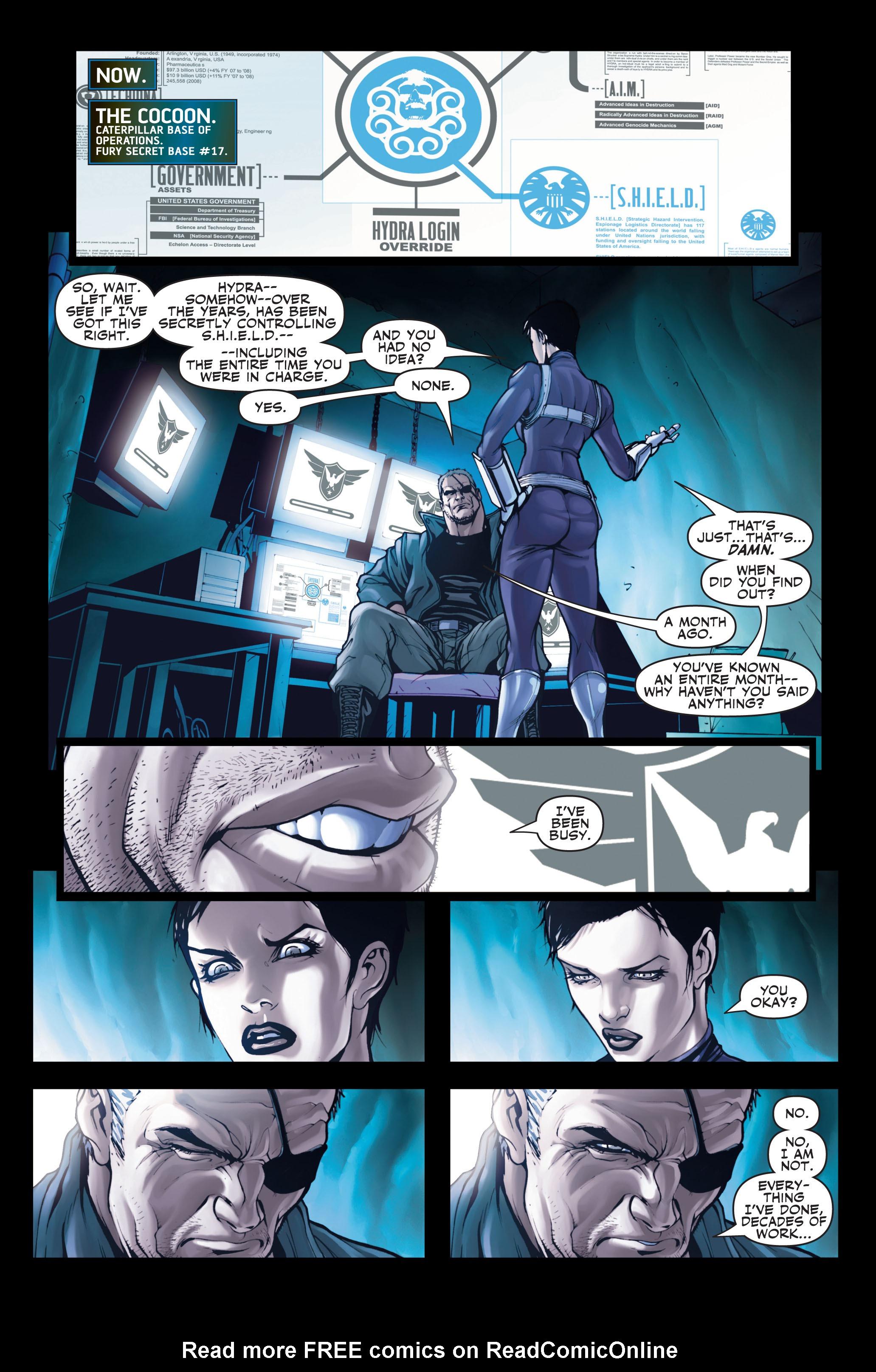 Read online Secret Warriors comic -  Issue #2 - 9