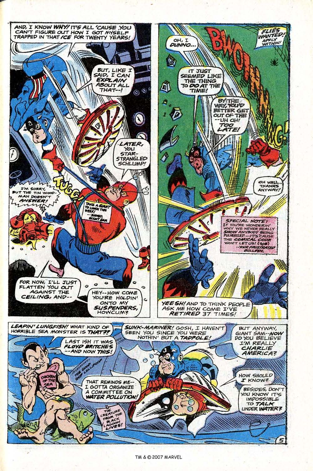 Read online Captain America (1968) comic -  Issue # _Annual 2 - 47