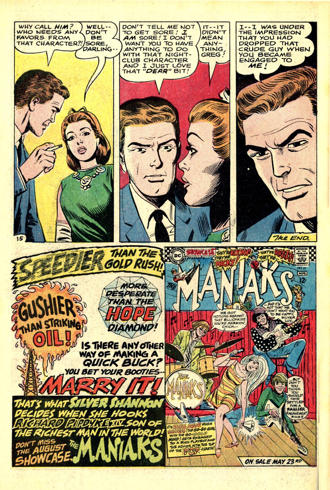 Read online Secret Hearts comic -  Issue #121 - 34