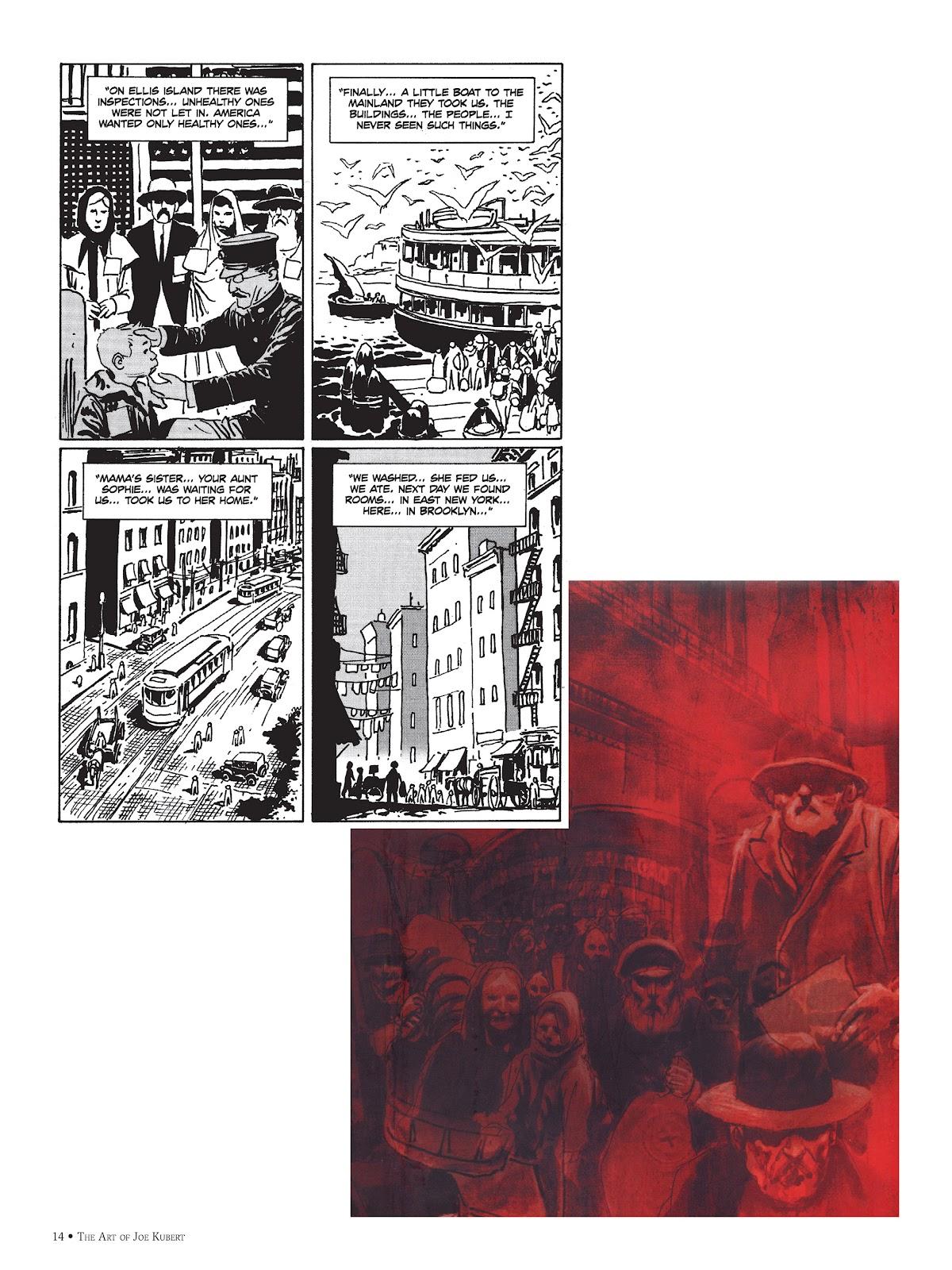 Read online The Art of Joe Kubert comic -  Issue # TPB (Part 1) - 14