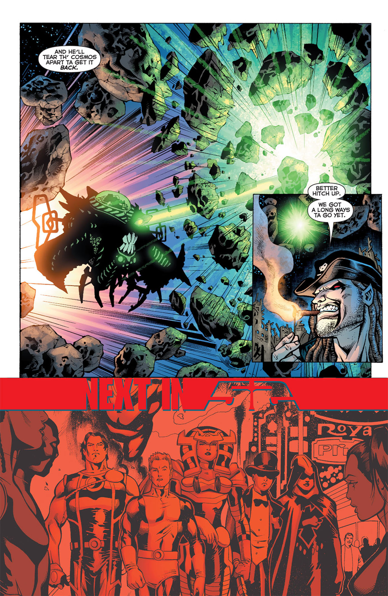 Read online 52 comic -  Issue #20 - 22