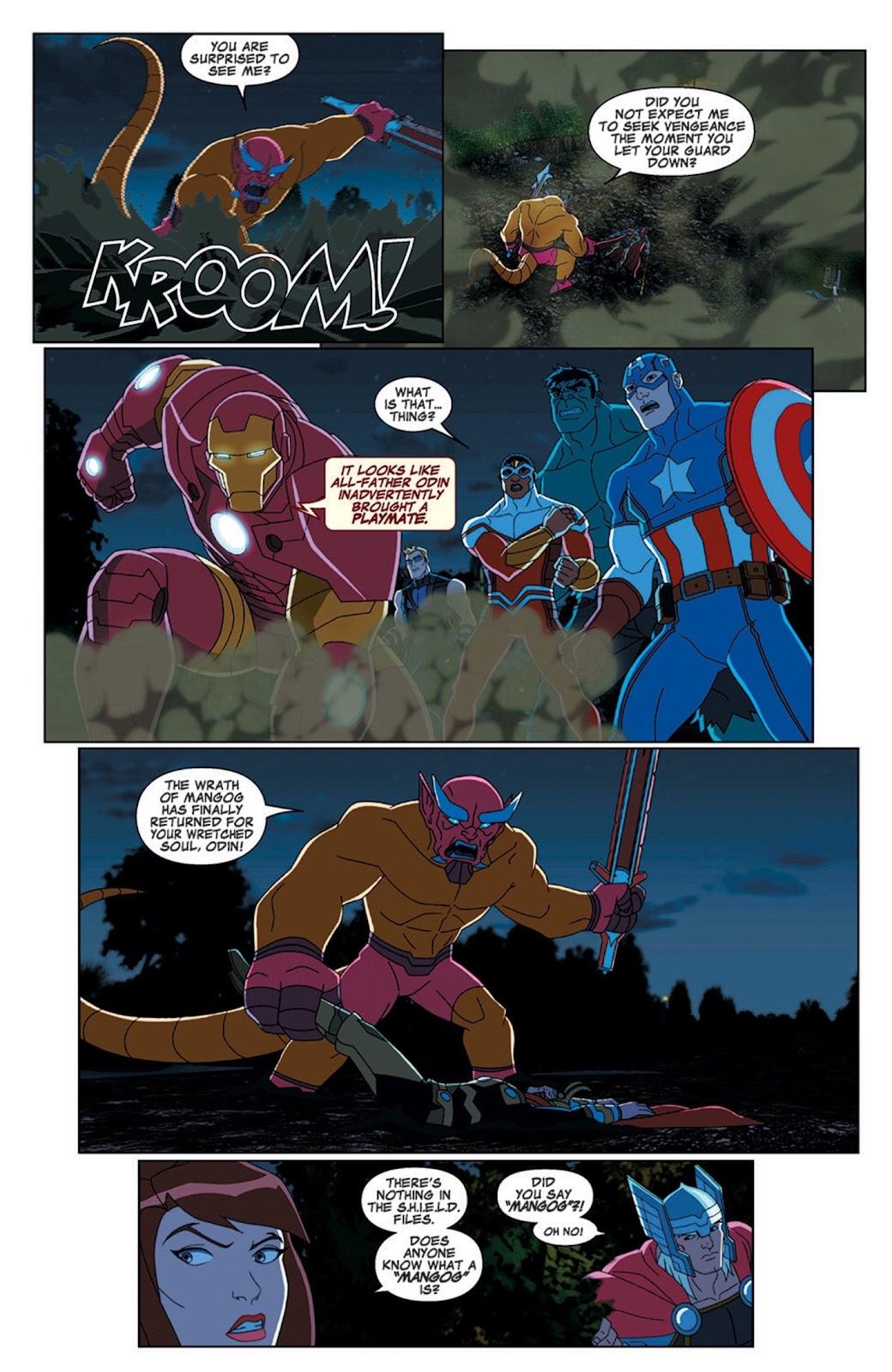 Read online Marvel Universe Avengers Assemble Season 2 comic -  Issue #7 - 12