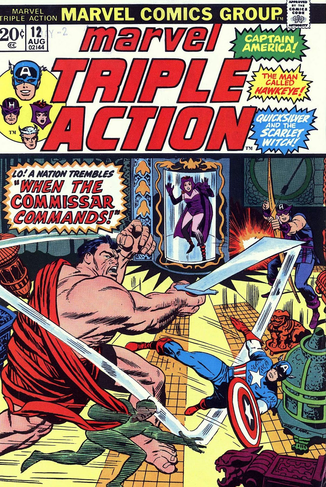Marvel Triple Action (1972) issue 12 - Page 1