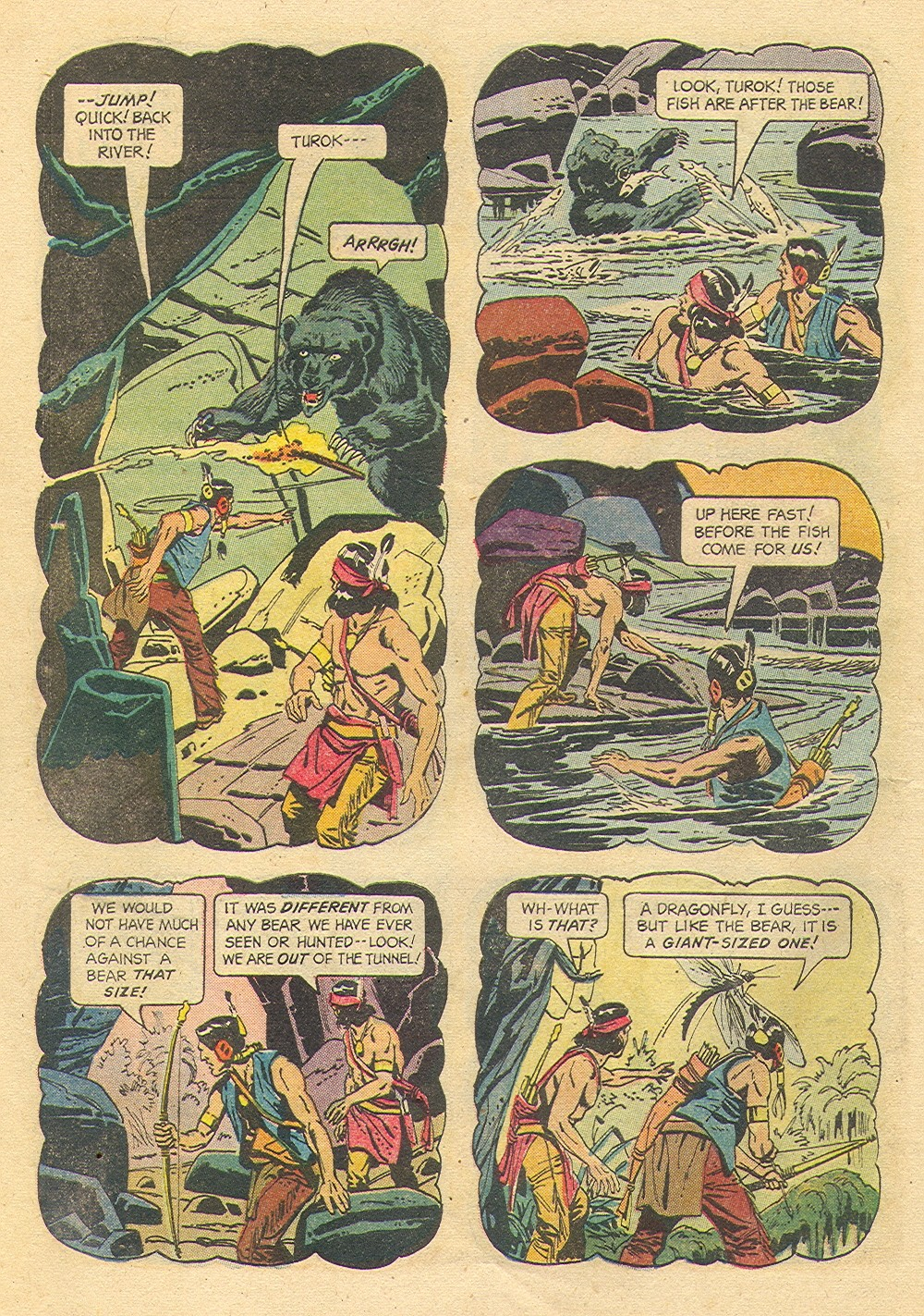 Read online Turok, Son of Stone comic -  Issue #35 - 8