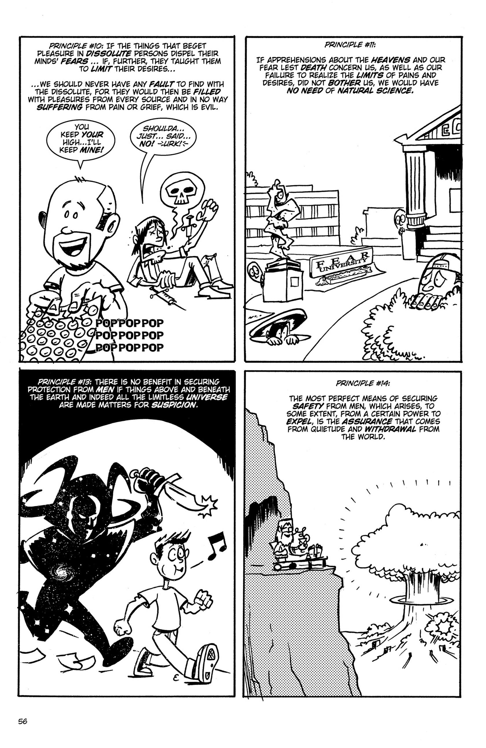 Read online Action Philosophers! comic -  Issue #Action Philosophers! TPB (Part 1) - 56