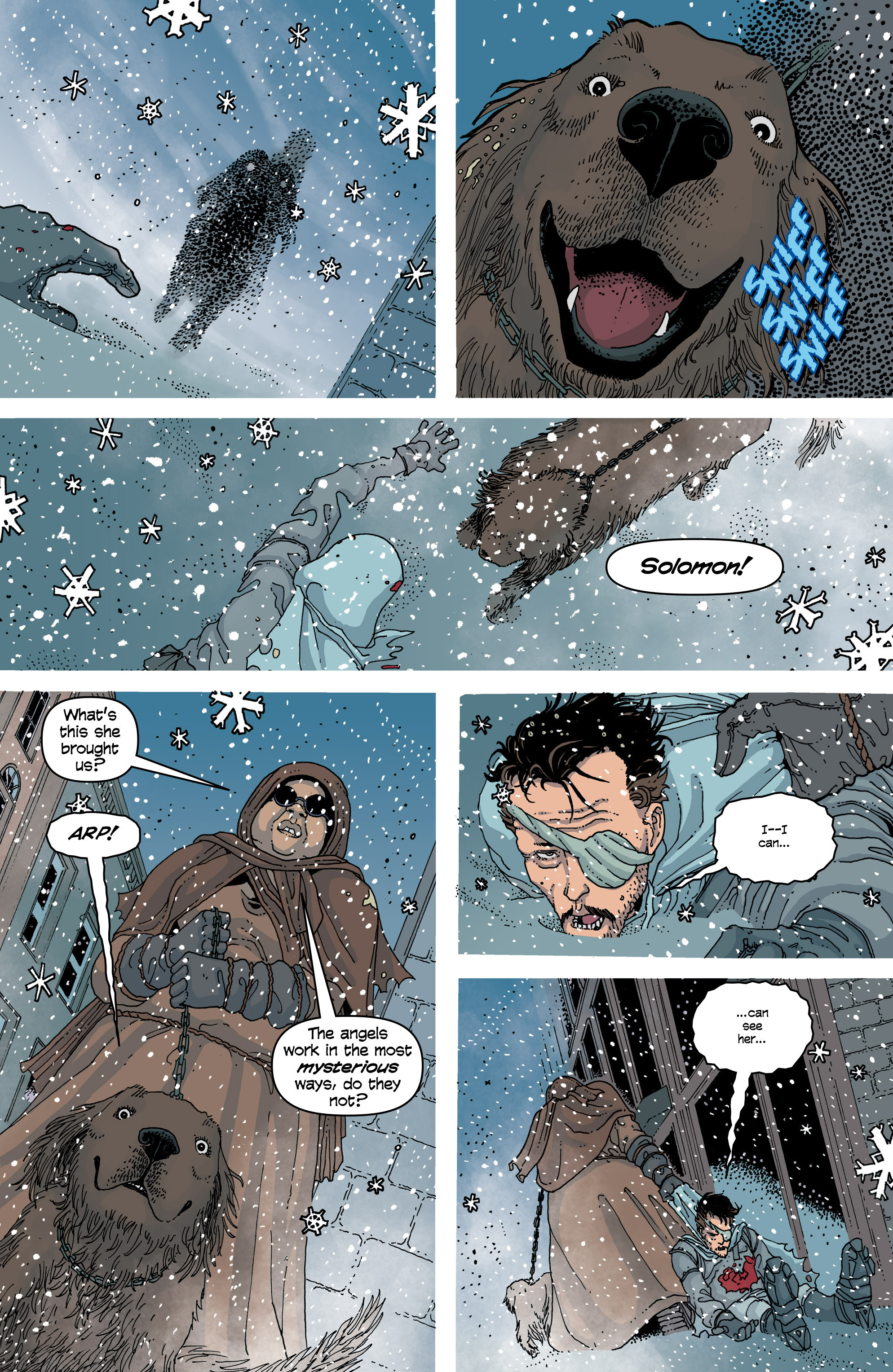 Read online Snowfall comic -  Issue #6 - 6