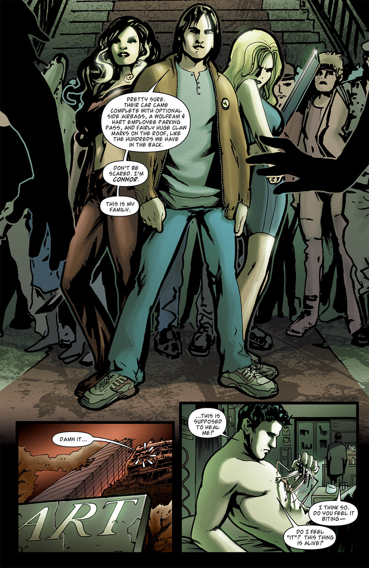 Read online Angel: After The Fall comic -  Issue #1 - 16