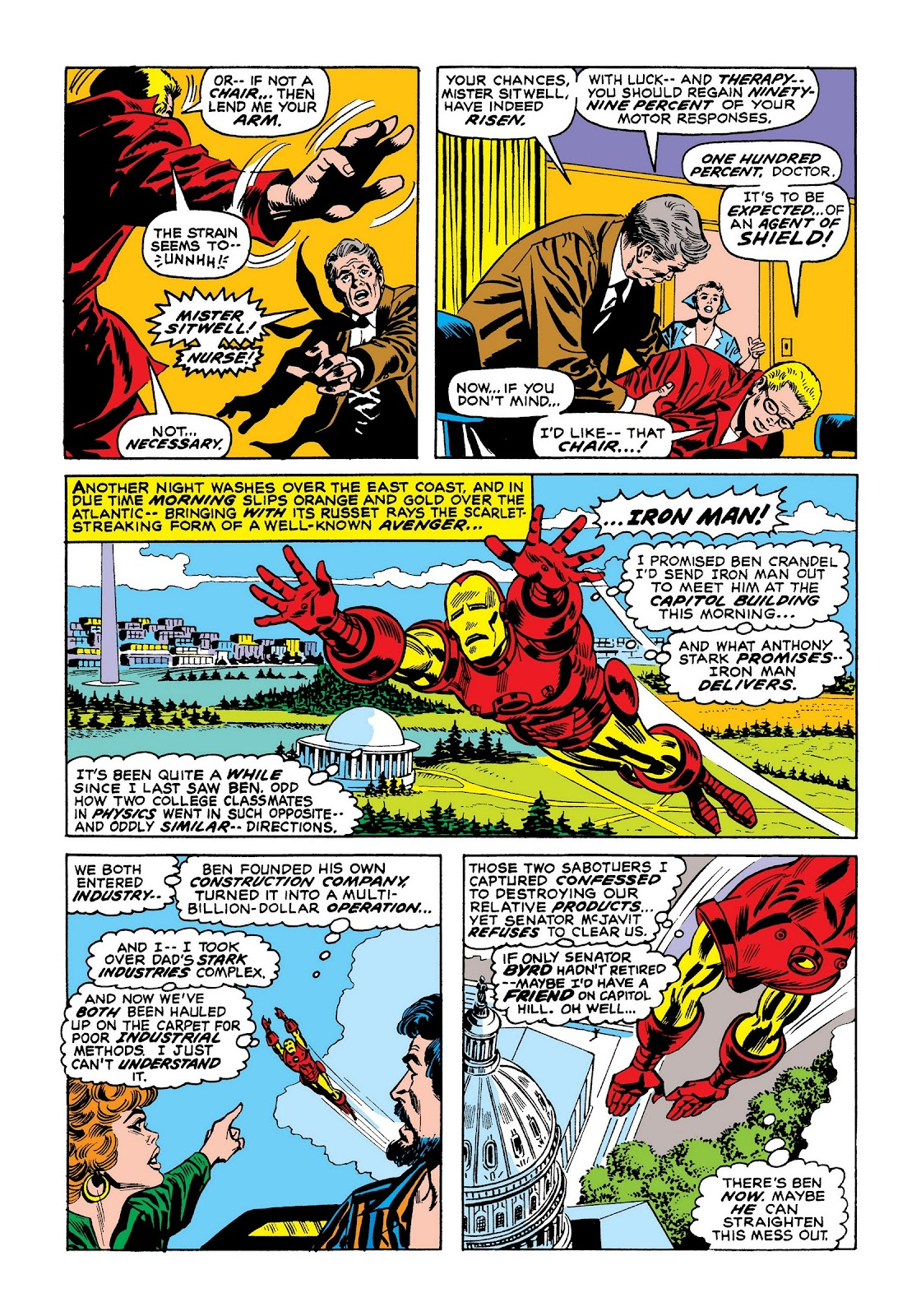 Read online Marvel Masterworks: The Invincible Iron Man comic -  Issue # TPB 8 (Part 1) - 75