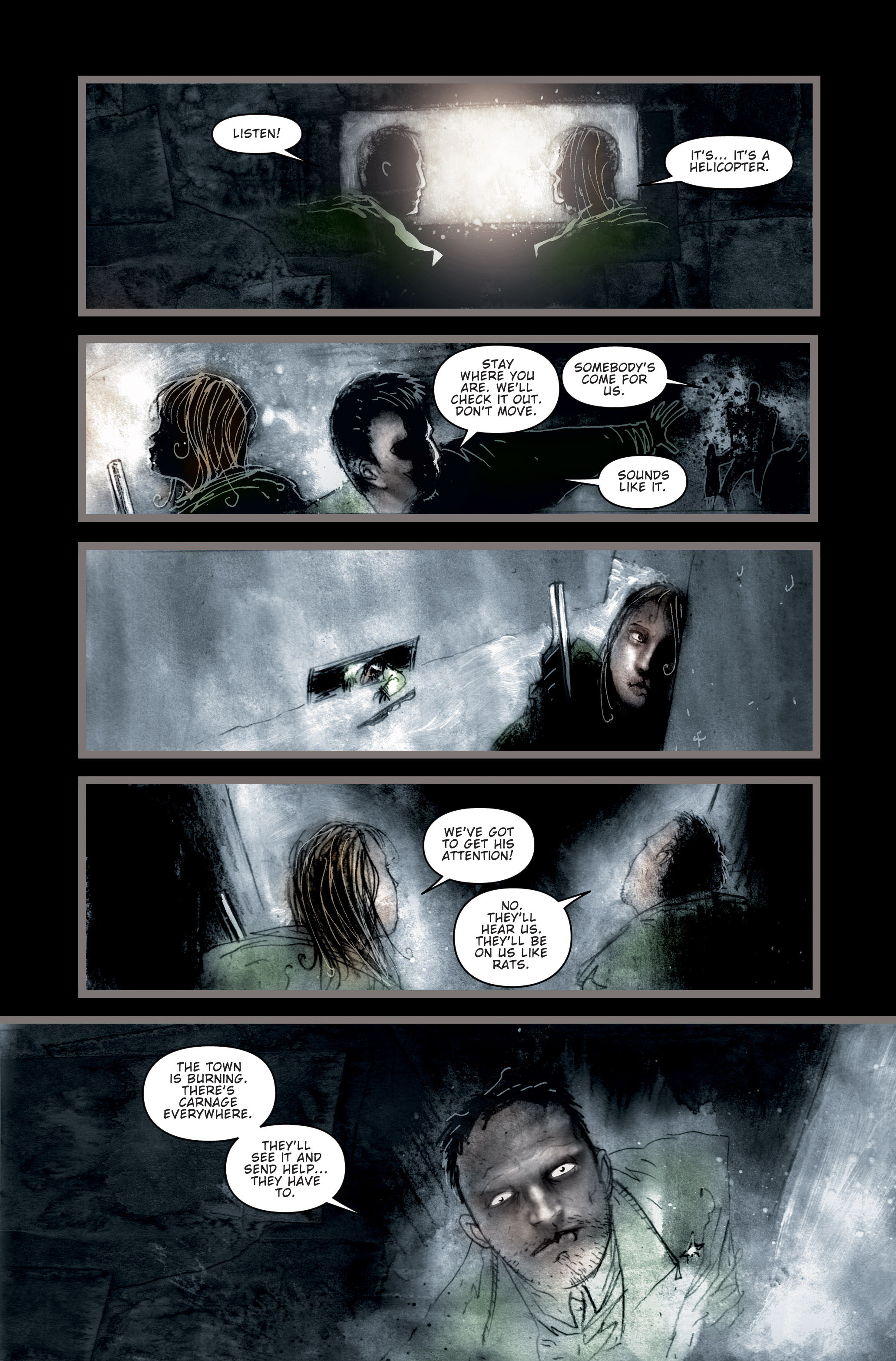 Read online 30 Days of Night (2002) comic -  Issue #3 - 11