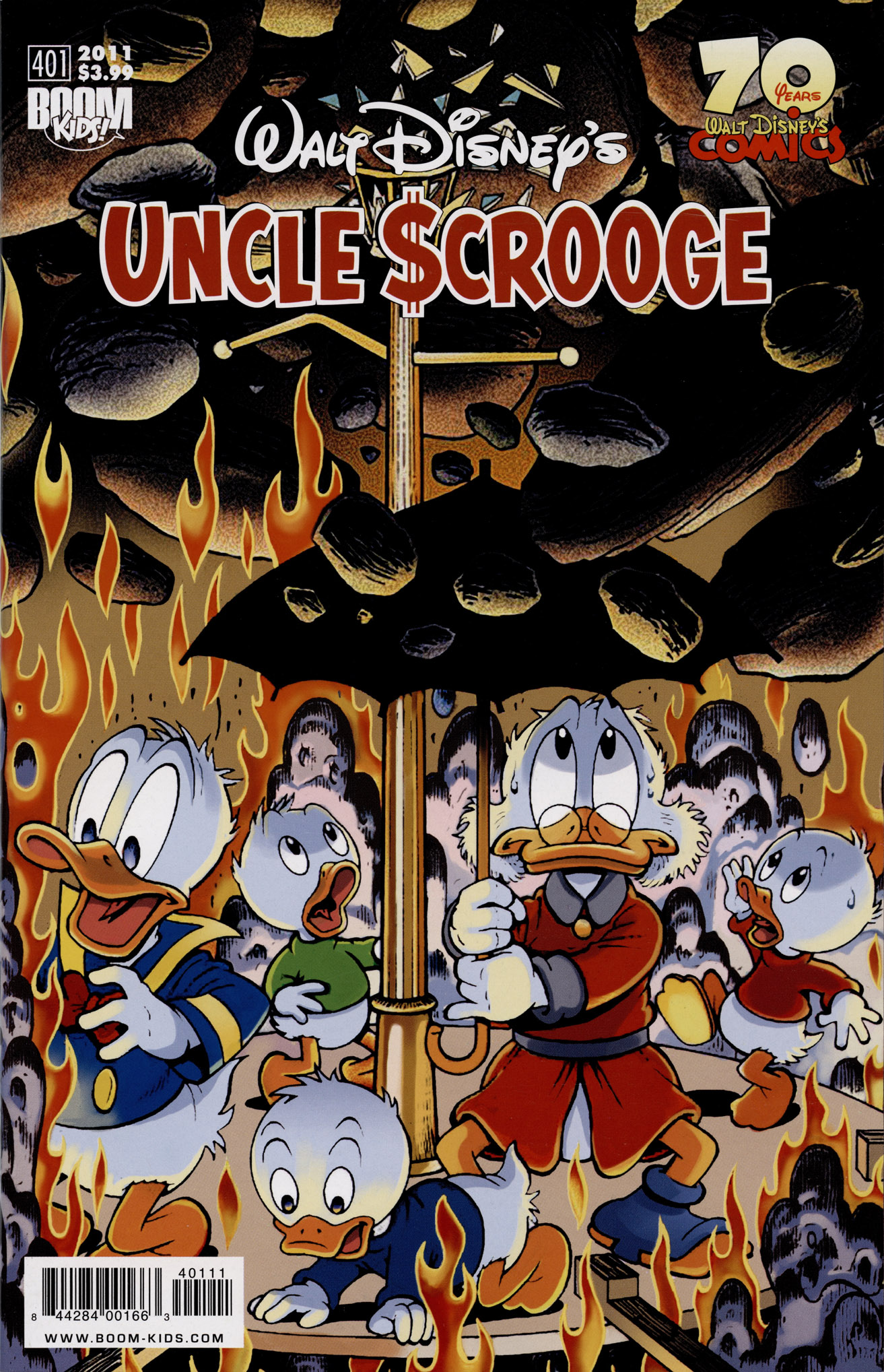 Read online Uncle Scrooge (1953) comic -  Issue #401 - 1