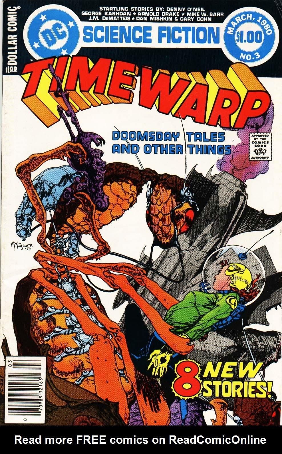 Time Warp (1979) 3 Page 1