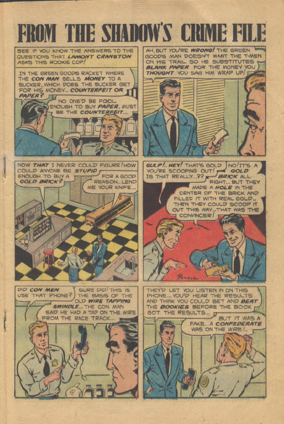 Read online Shadow Comics comic -  Issue #95 - 27