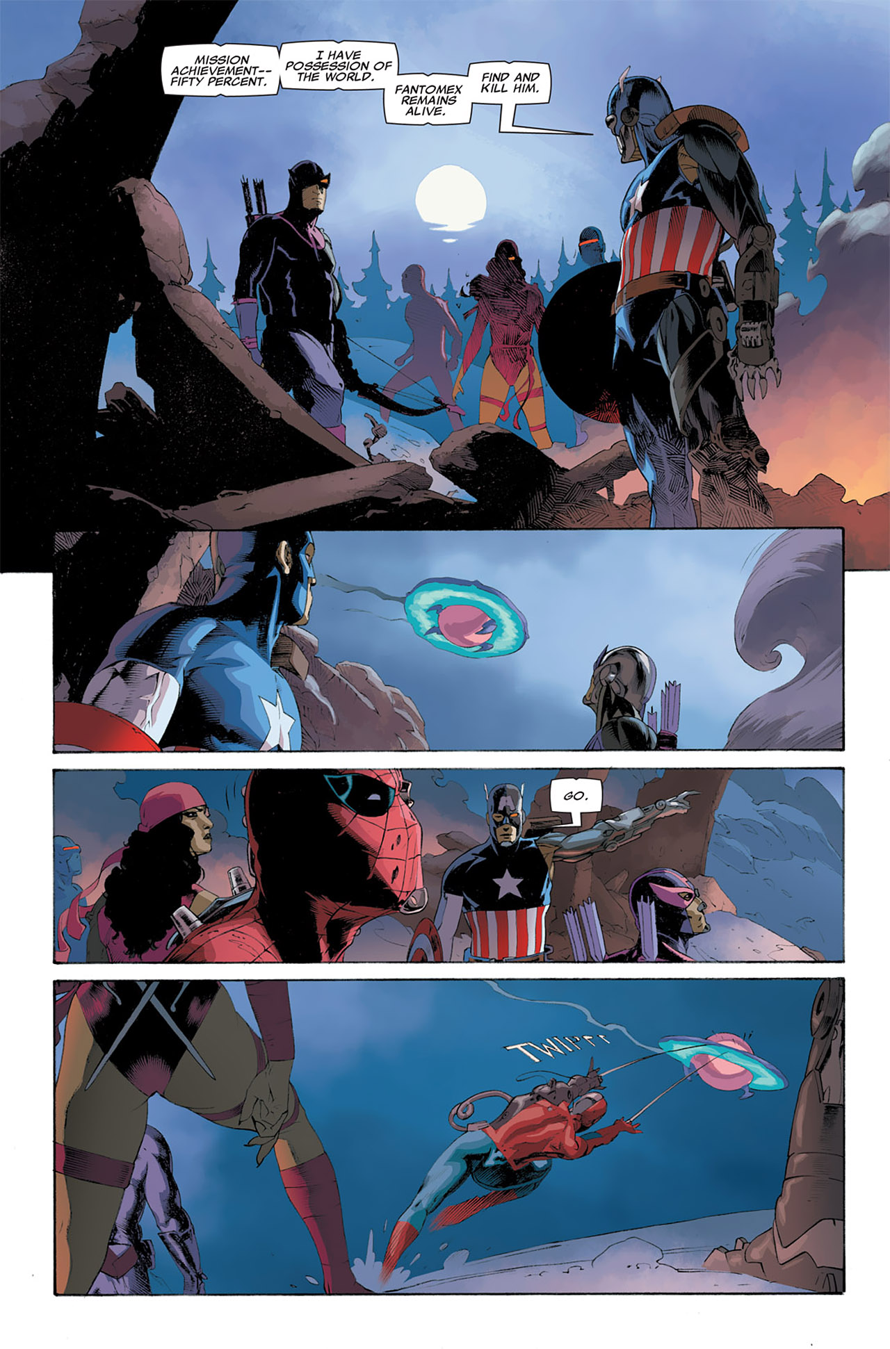 Read online Uncanny X-Force (2010) comic -  Issue #6 - 3