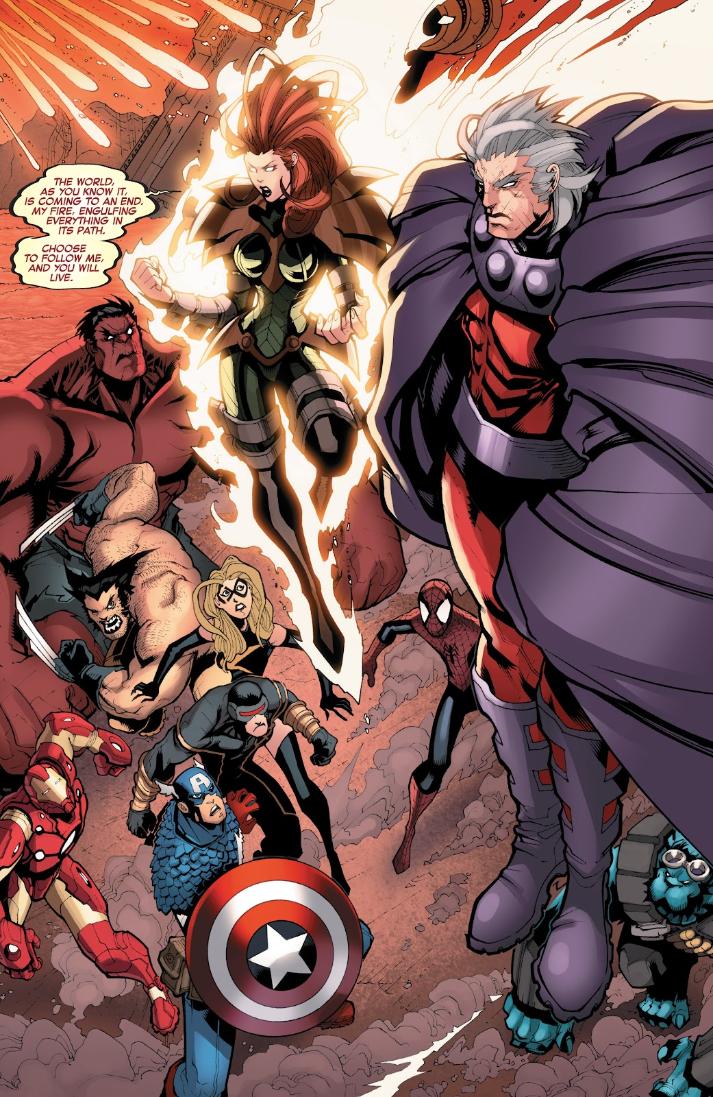 Read online What If? AvX comic -  Issue #4 - 6