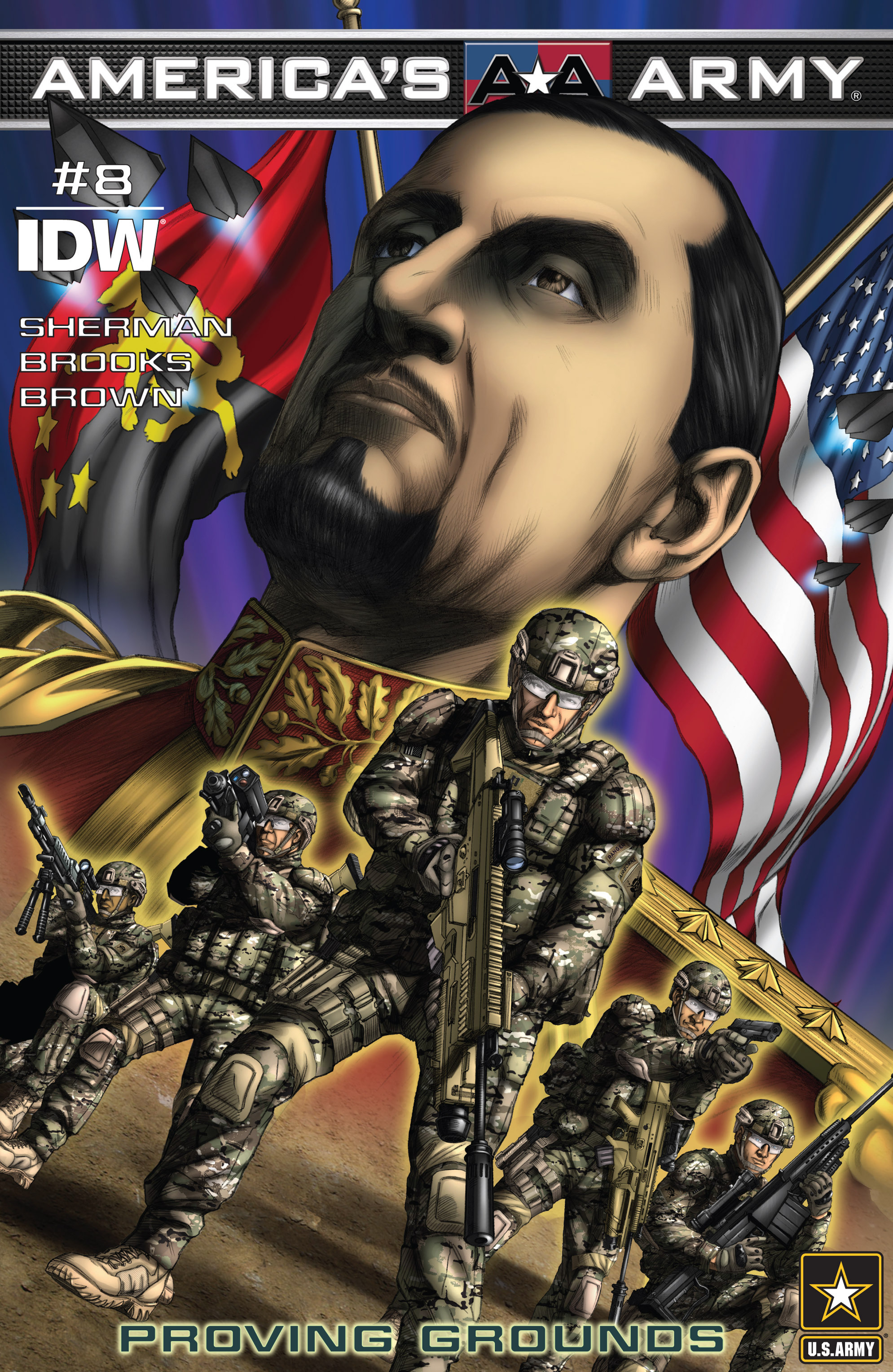 Read online America's Army comic -  Issue #8 - 1