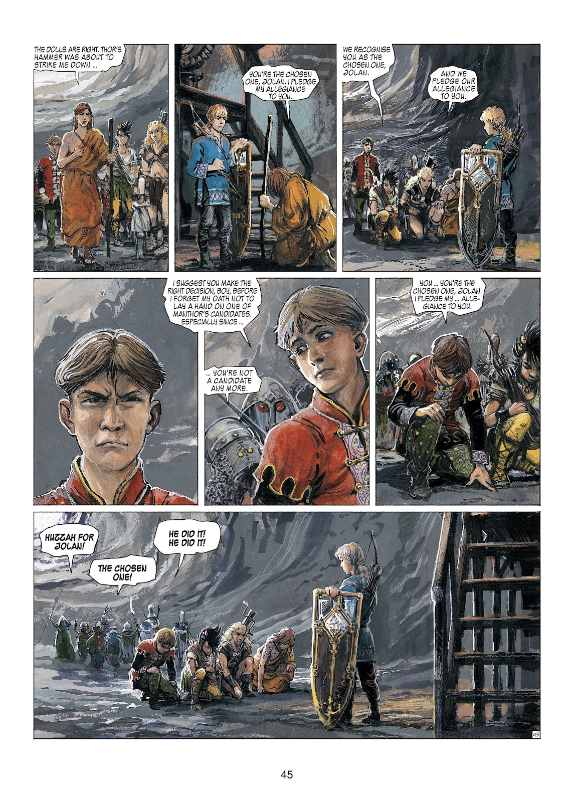 Read online Thorgal comic -  Issue #23 - 47