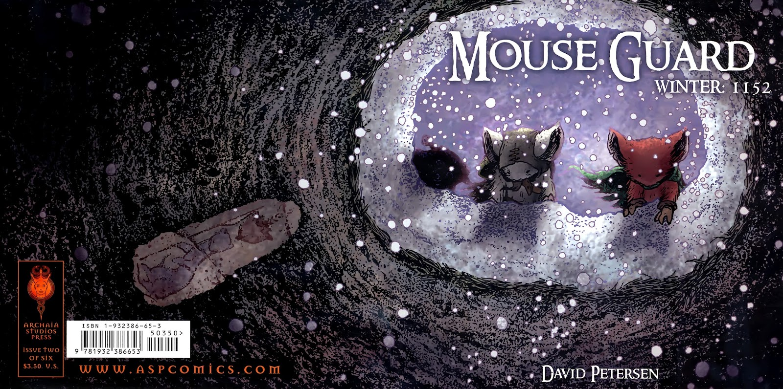 Mouse Guard: Winter 1152 issue 2 - Page 1