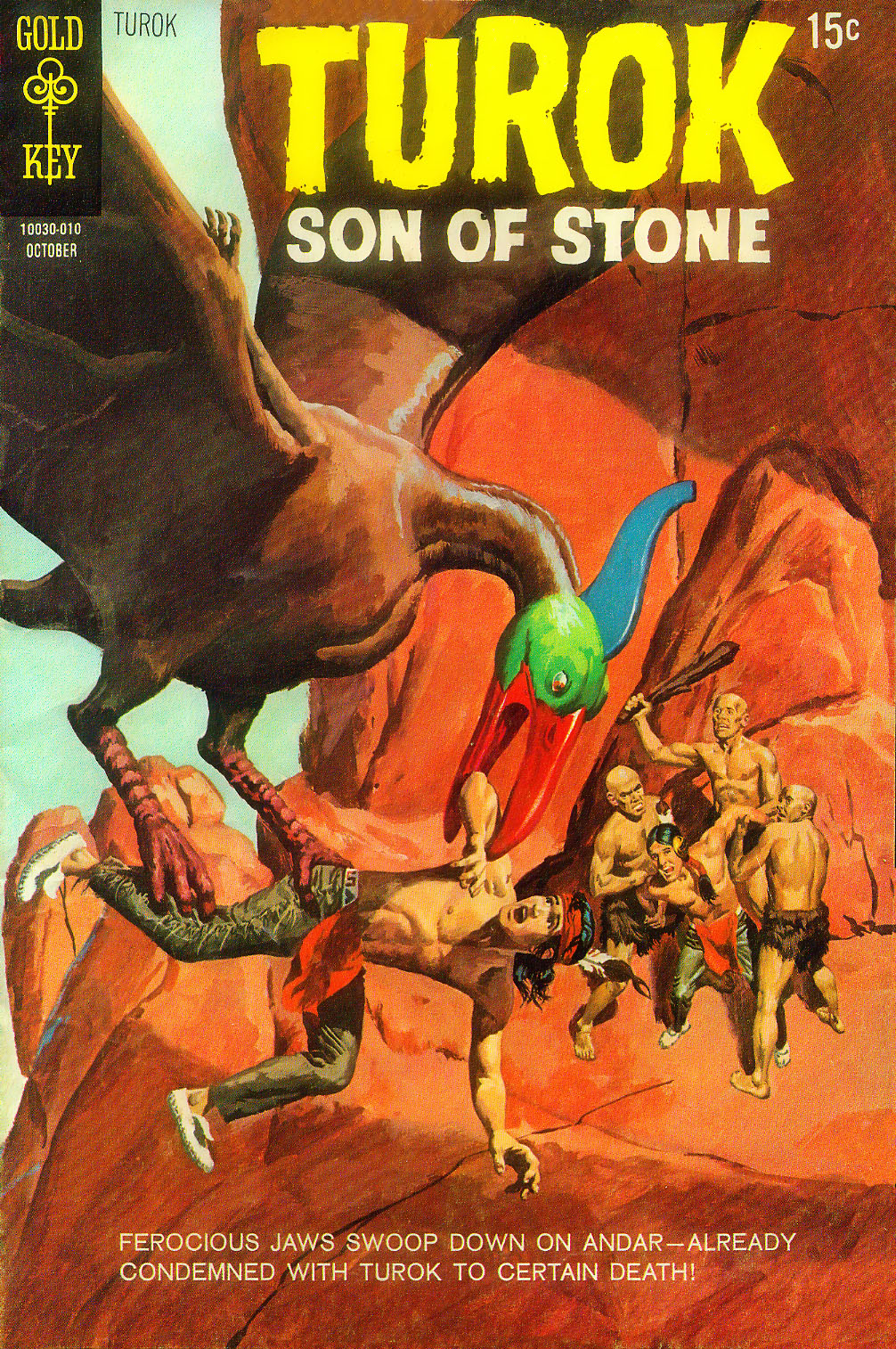 Read online Turok, Son of Stone comic -  Issue #71 - 2